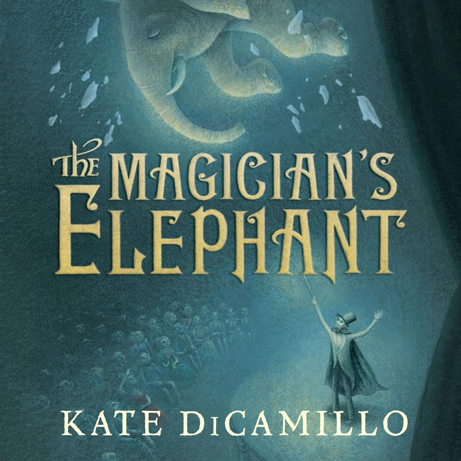 Printable The Magician's Elephant Audiobook Cover Art