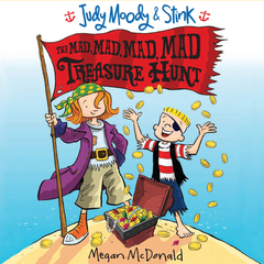 The Mad, Mad, Mad, Mad Treasure Hunt Audiobook, by Megan McDonald