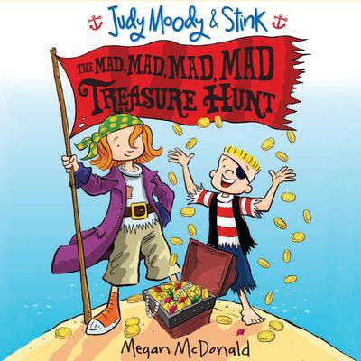 The Mad, Mad, Mad, Mad Treasure Hunt Audiobook, by Megan McDonald