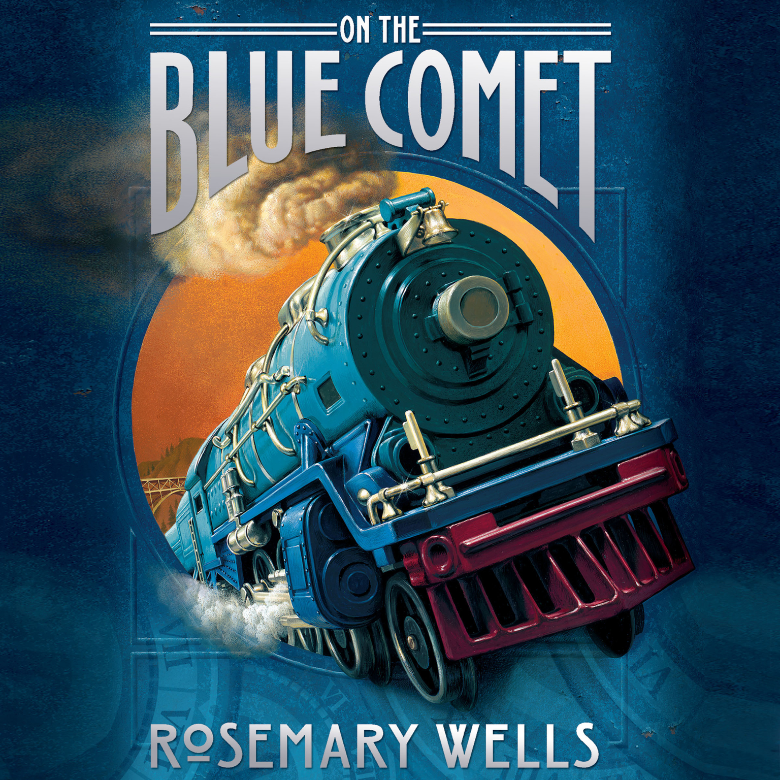 Printable On the Blue Comet Audiobook Cover Art