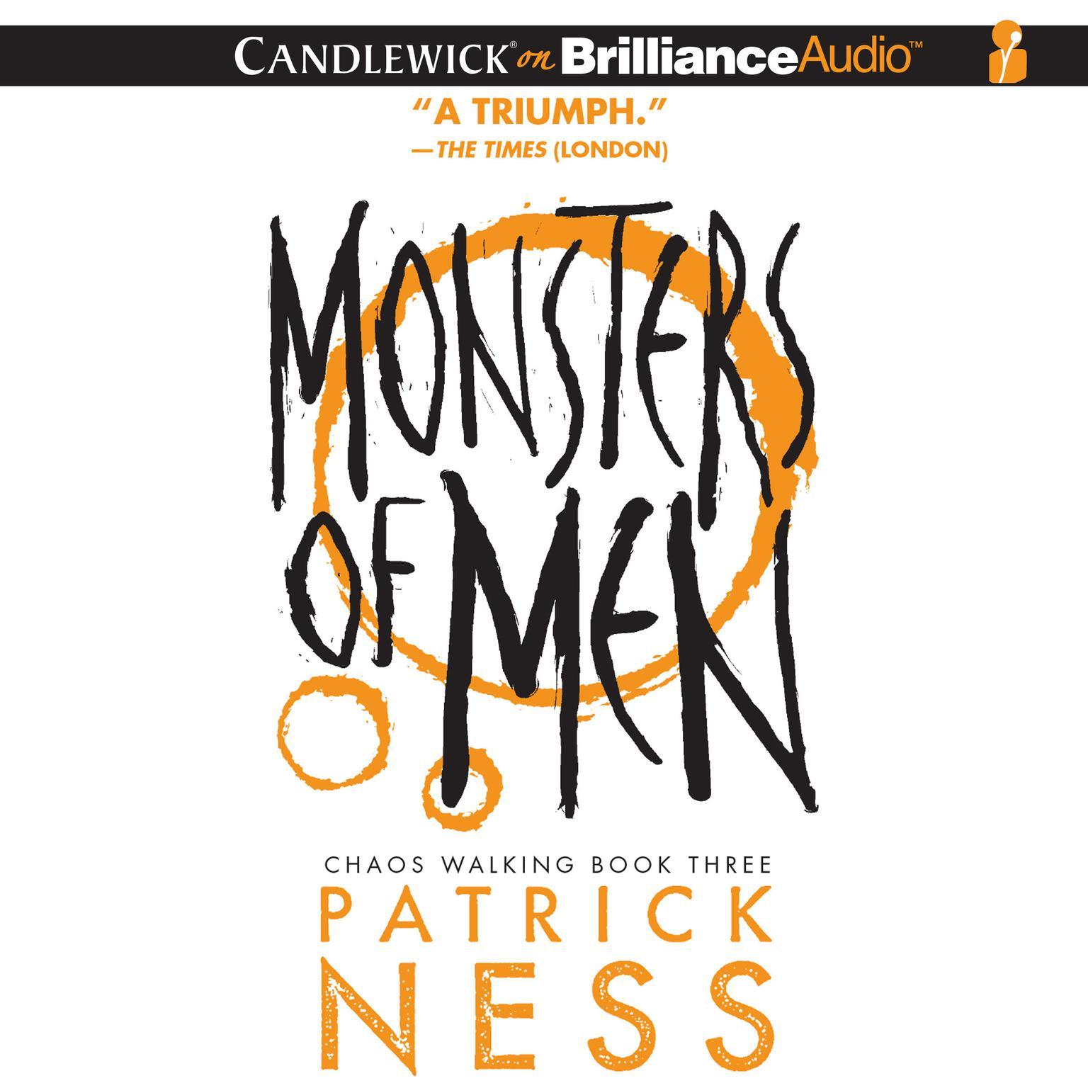 Printable Monsters of Men Audiobook Cover Art