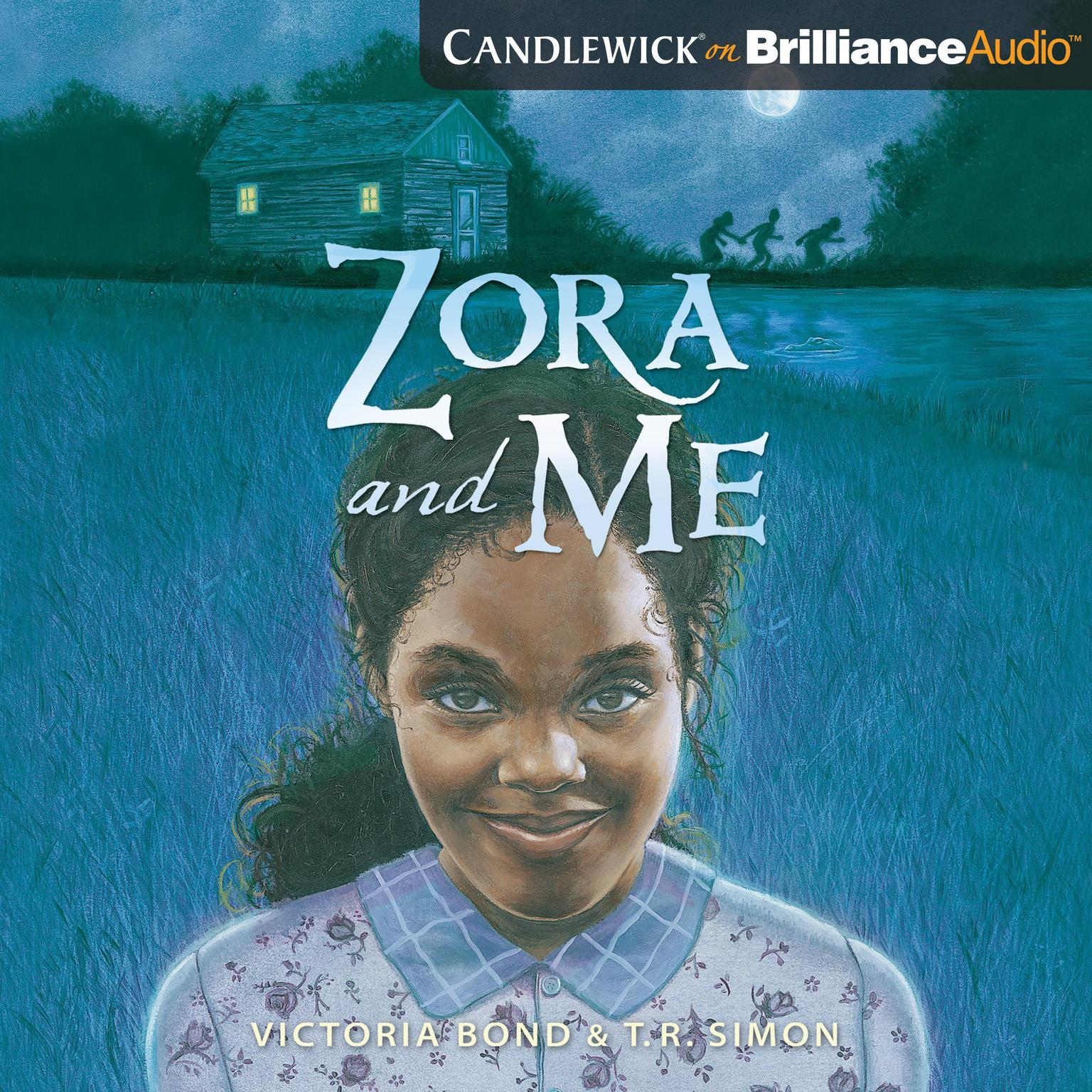 Printable Zora and Me Audiobook Cover Art