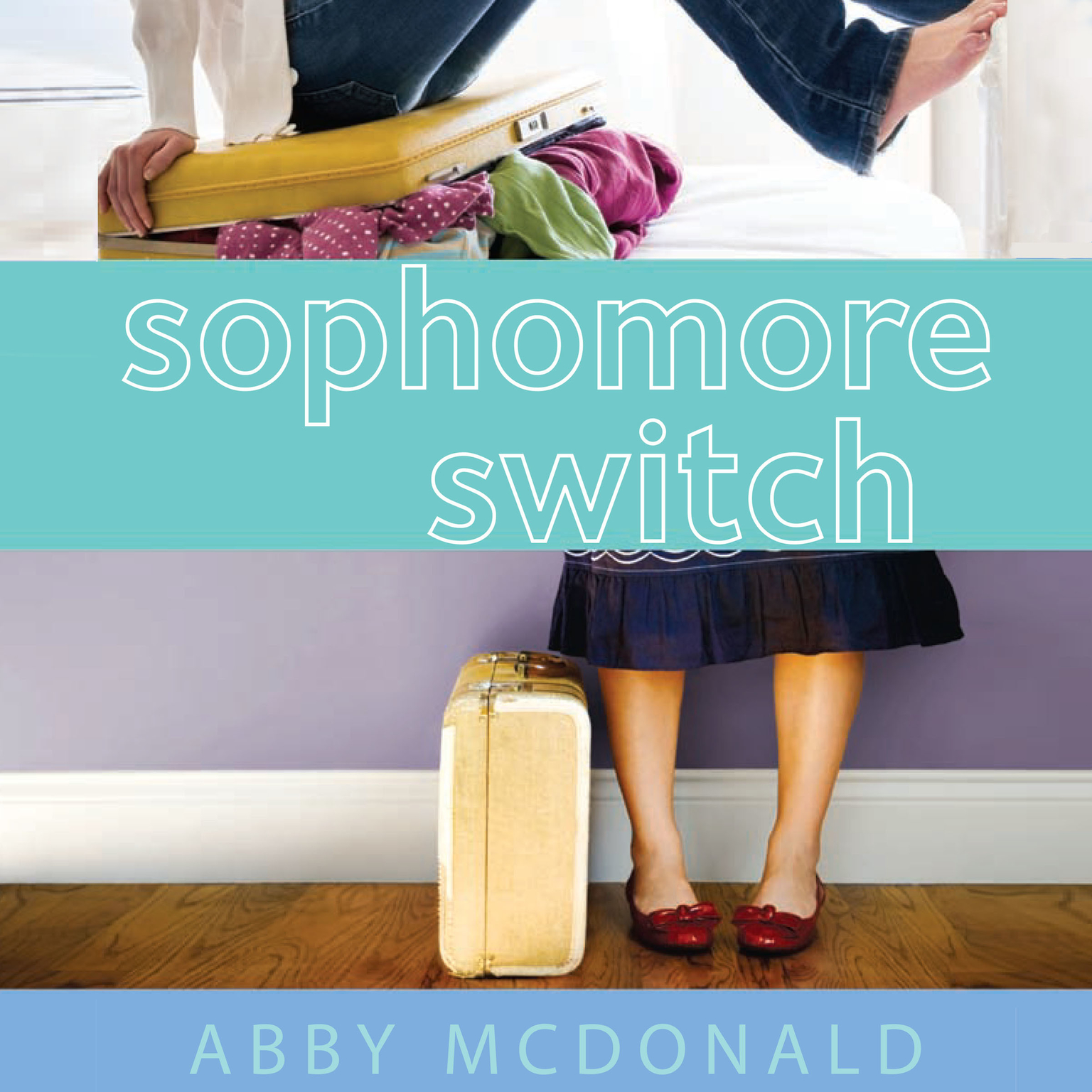 Printable Sophomore Switch Audiobook Cover Art