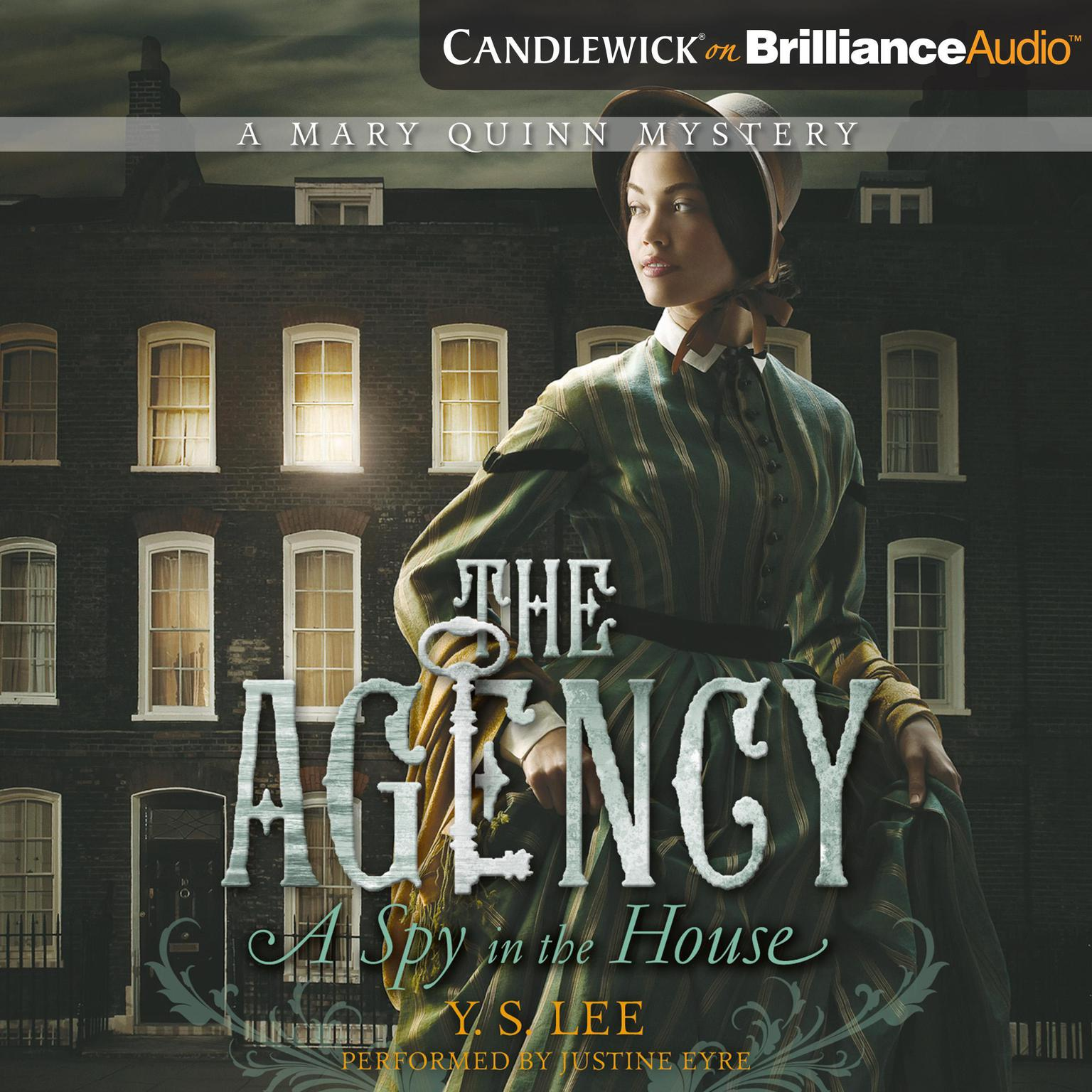 Printable The Agency 1: A Spy in the House Audiobook Cover Art