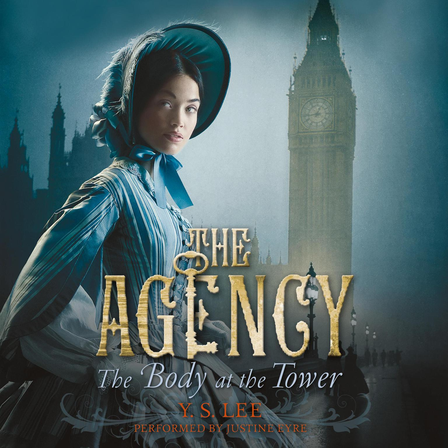 Printable The Agency 2: The Body at the Tower Audiobook Cover Art