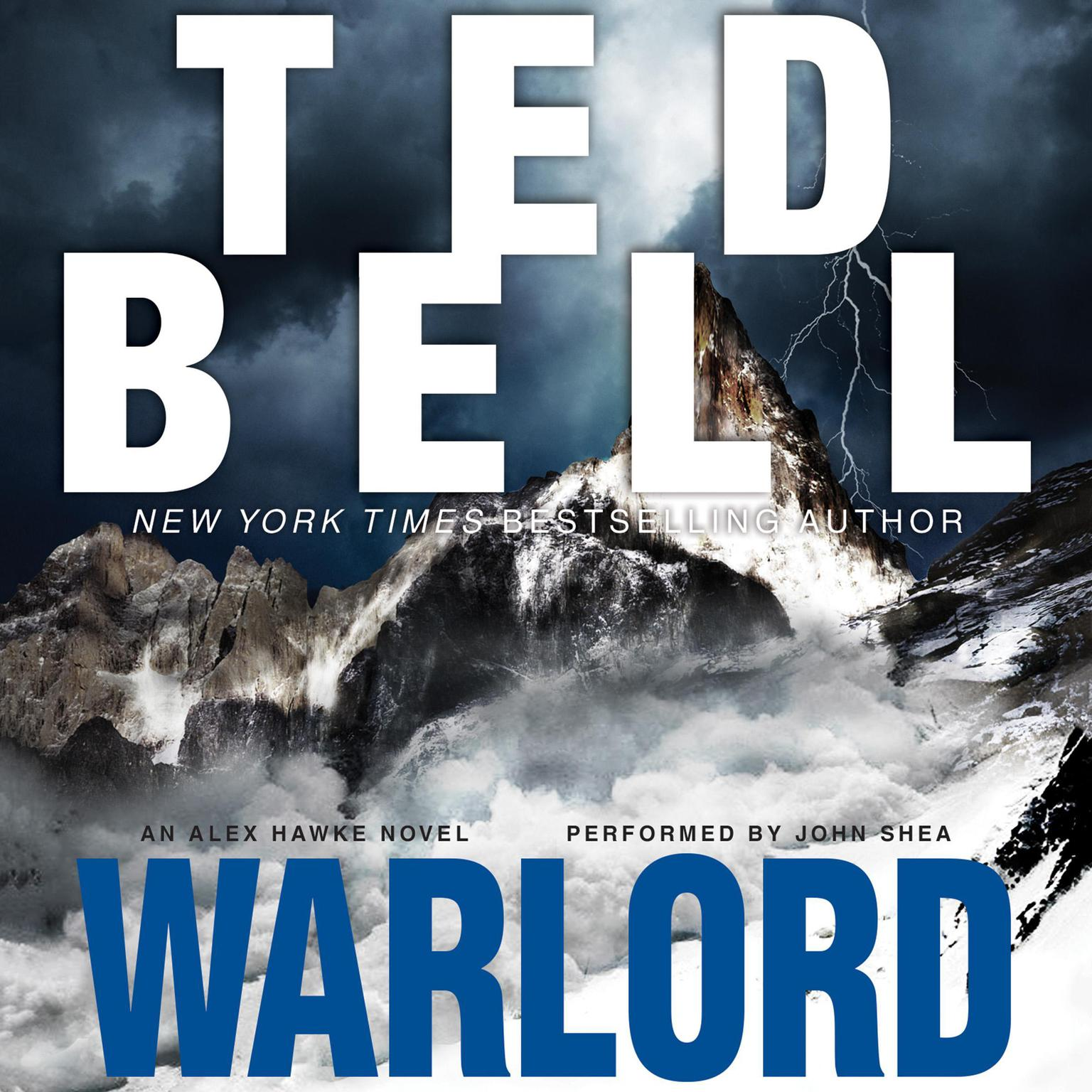 Printable Warlord Audiobook Cover Art
