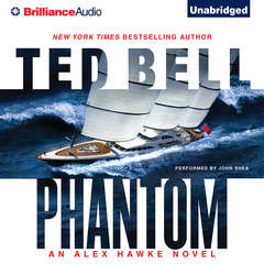 Phantom Audiobook, by Ted Bell