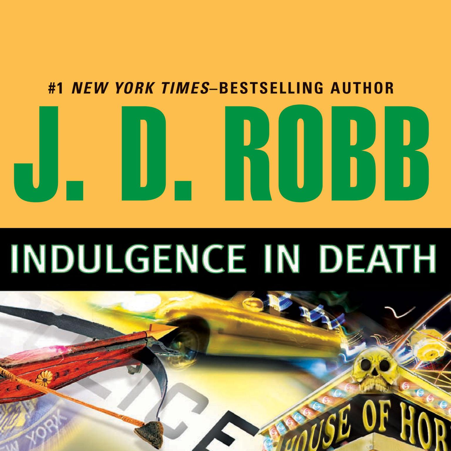 Printable Indulgence in Death Audiobook Cover Art