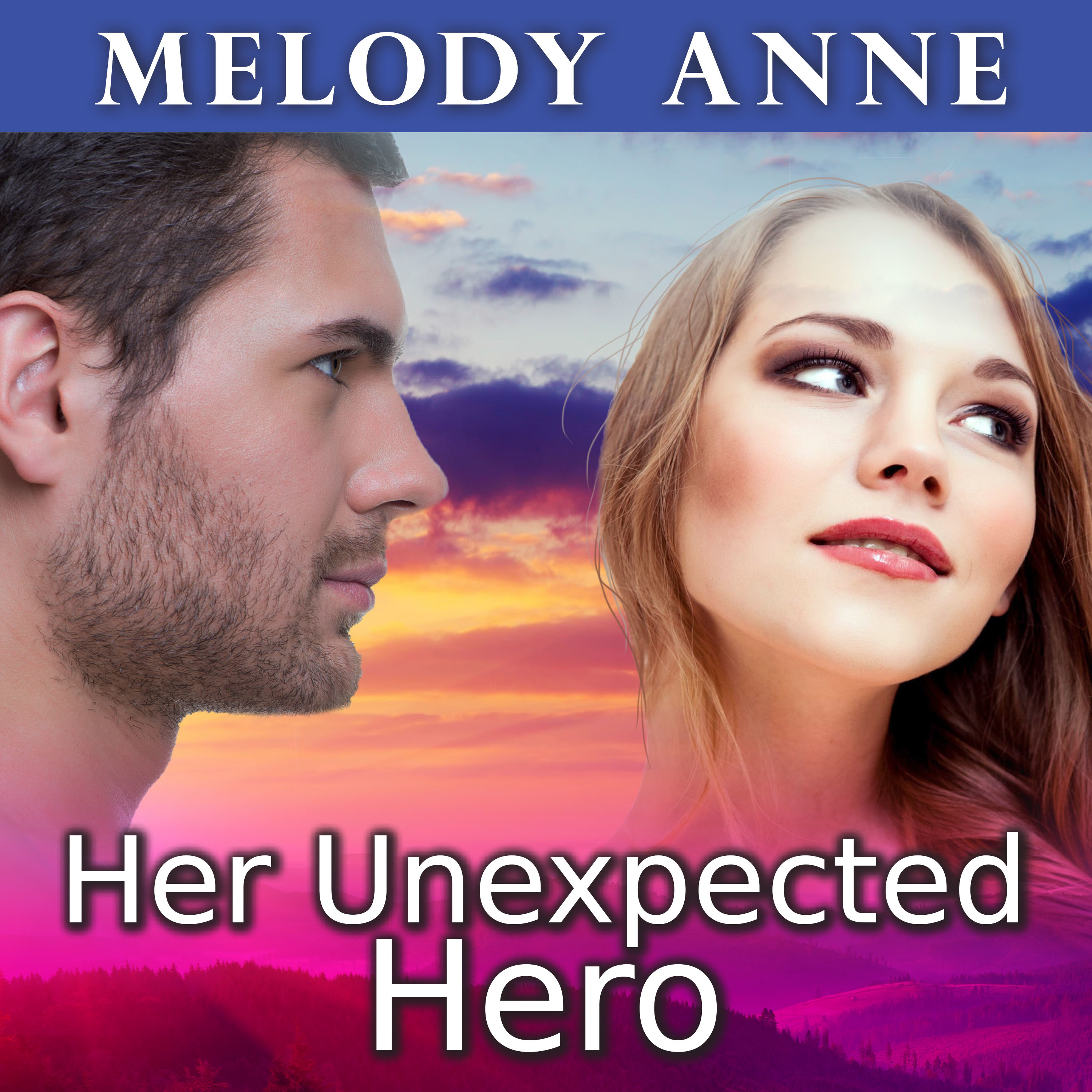Printable Her Unexpected Hero Audiobook Cover Art