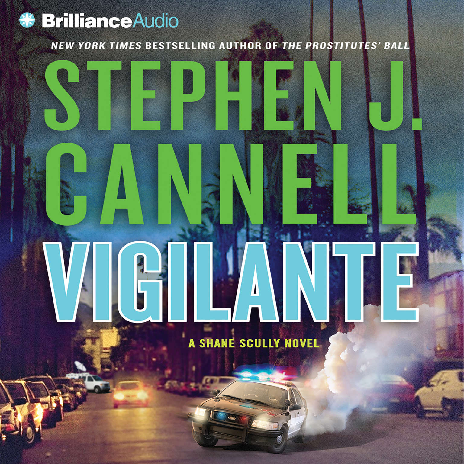 Printable Vigilante Audiobook Cover Art