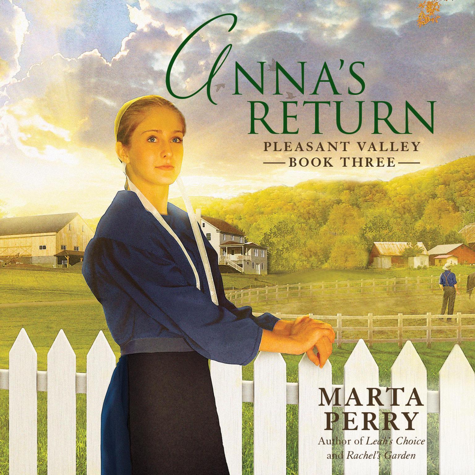 Printable Anna's Return Audiobook Cover Art