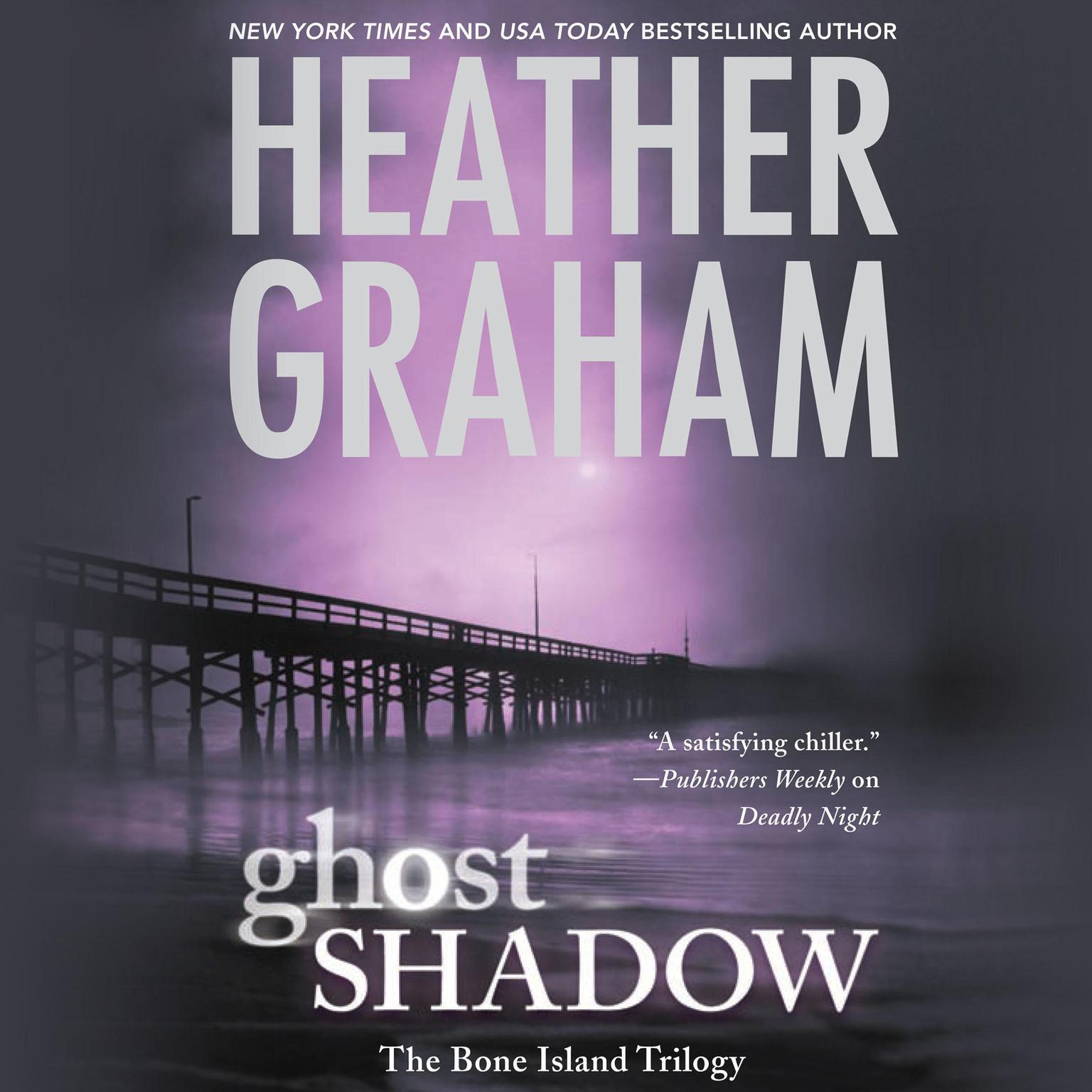 Printable Ghost Shadow Audiobook Cover Art