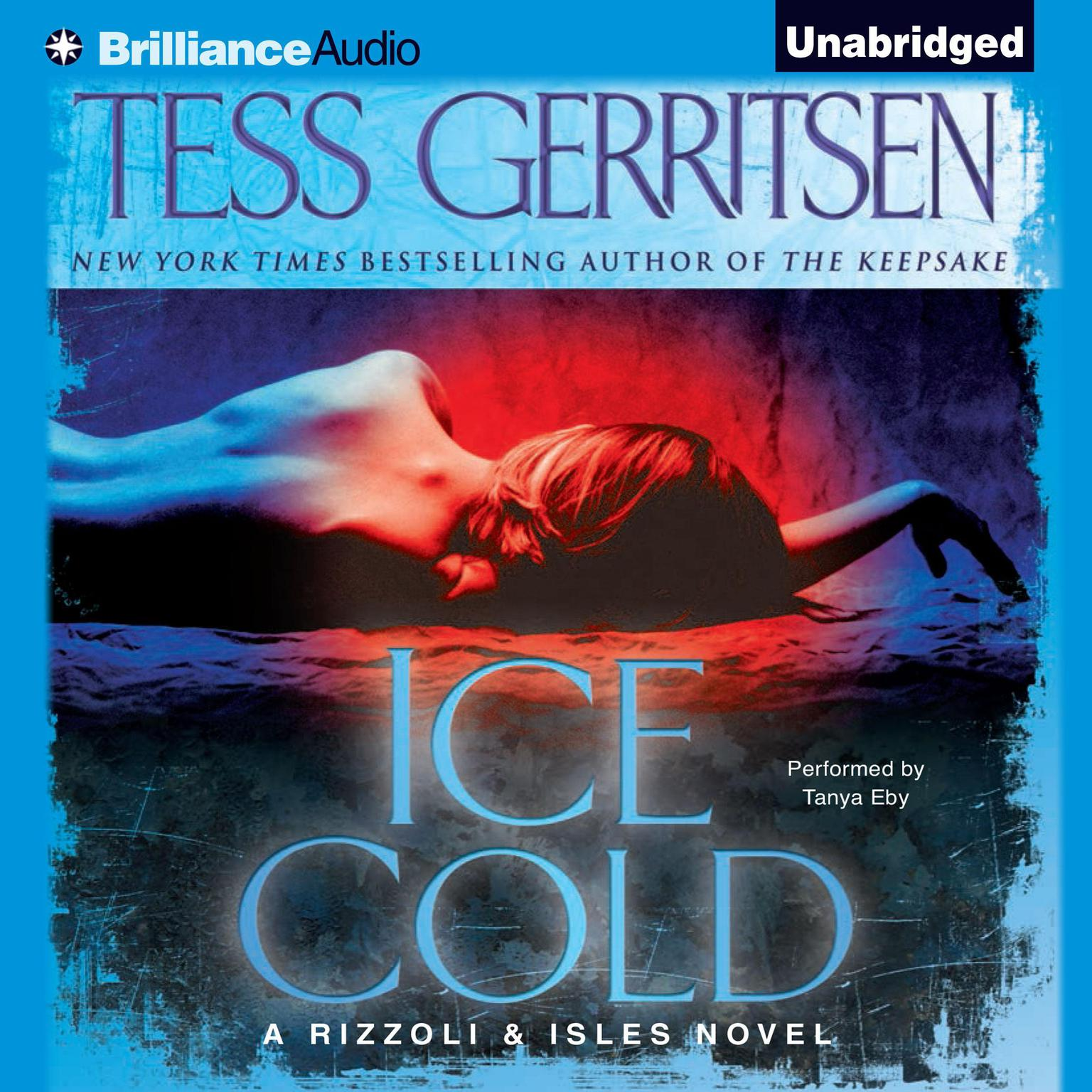 Printable Ice Cold Audiobook Cover Art