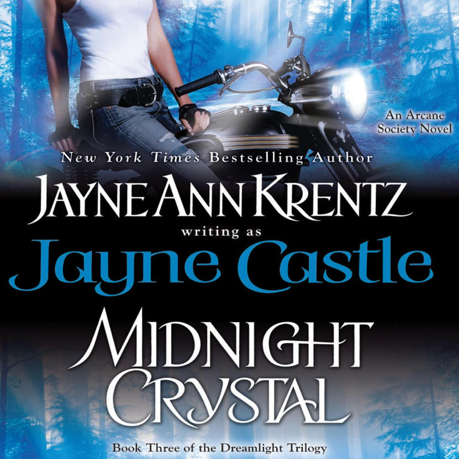 Printable Midnight Crystal Audiobook Cover Art