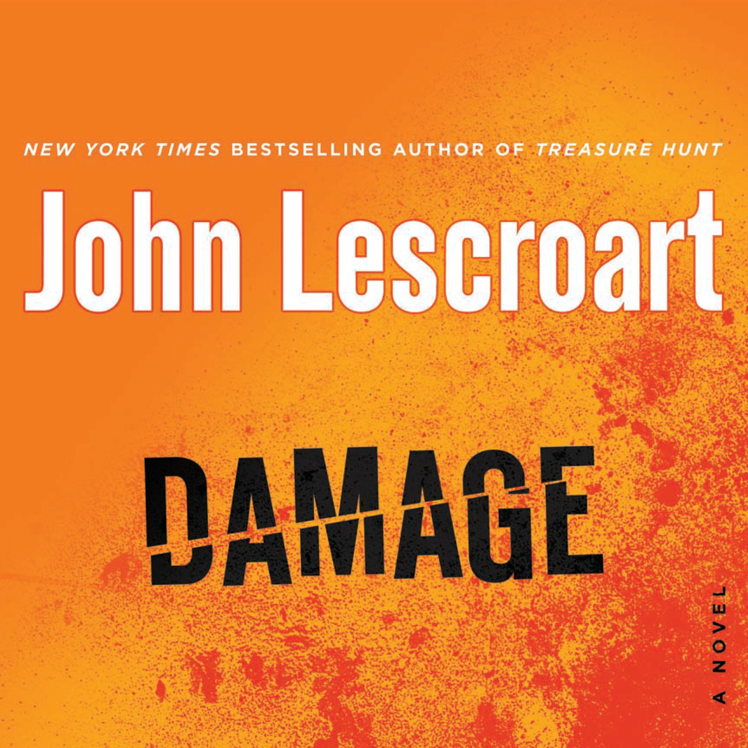 Printable Damage Audiobook Cover Art