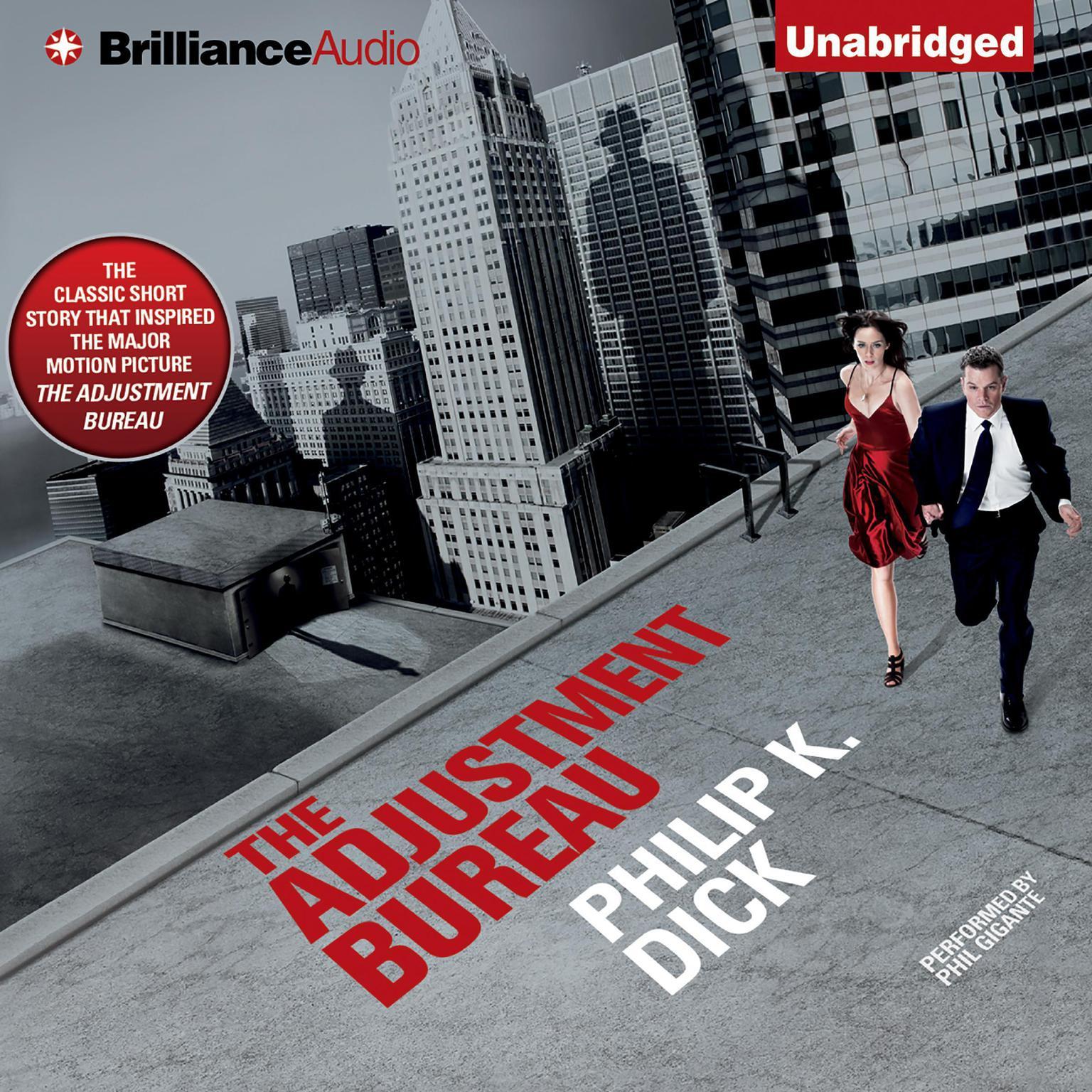 Printable The Adjustment Bureau Audiobook Cover Art