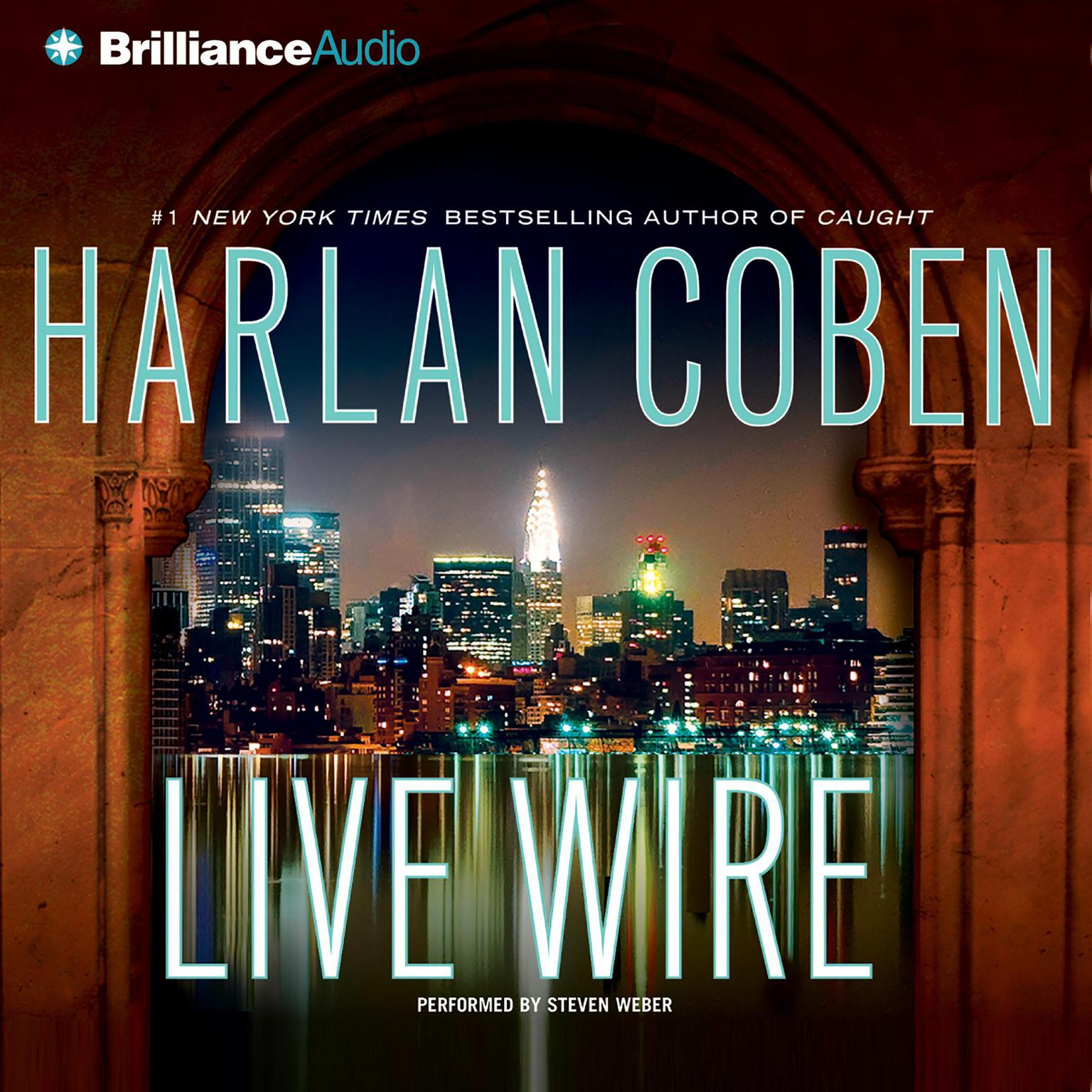 Printable Live Wire Audiobook Cover Art