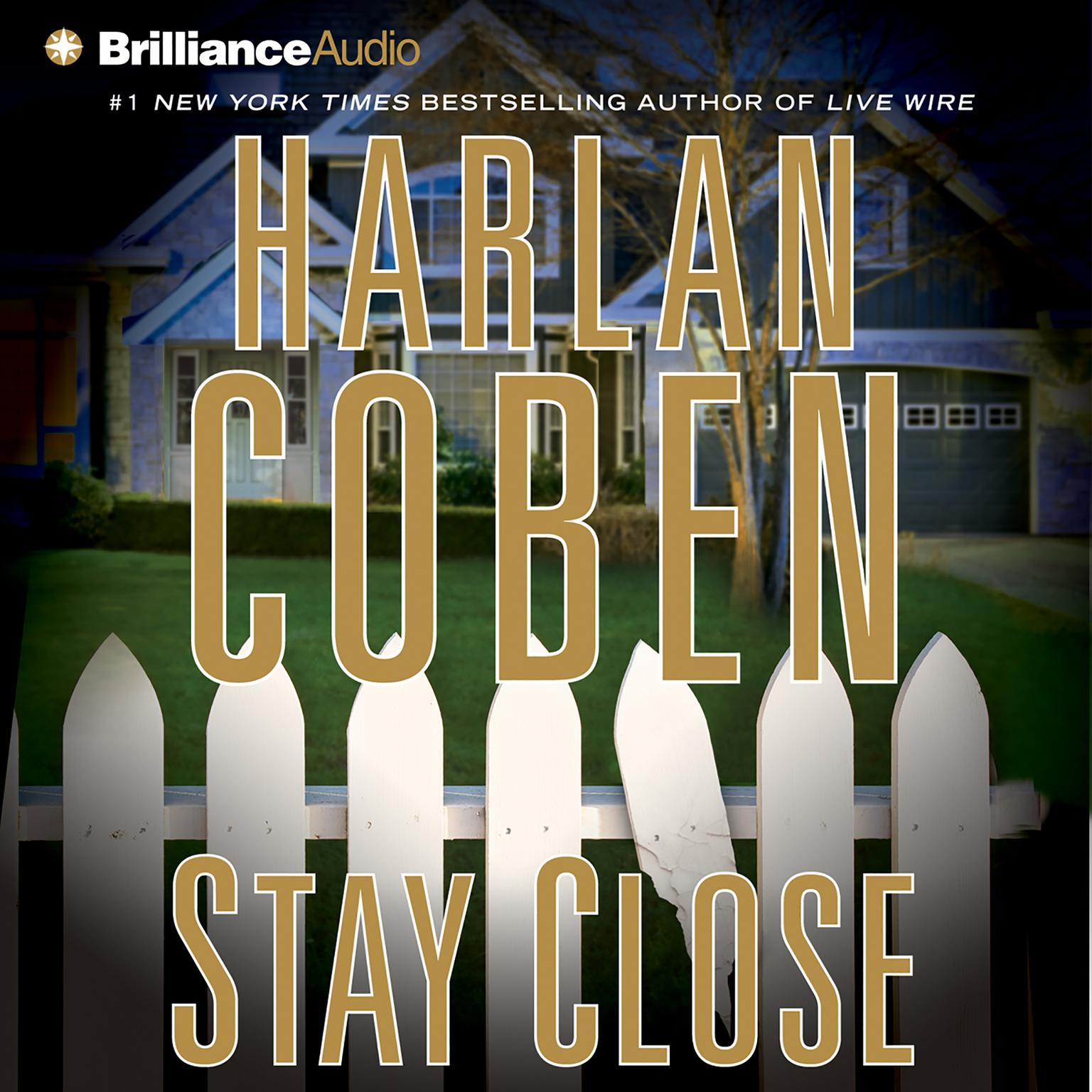 Printable Stay Close Audiobook Cover Art