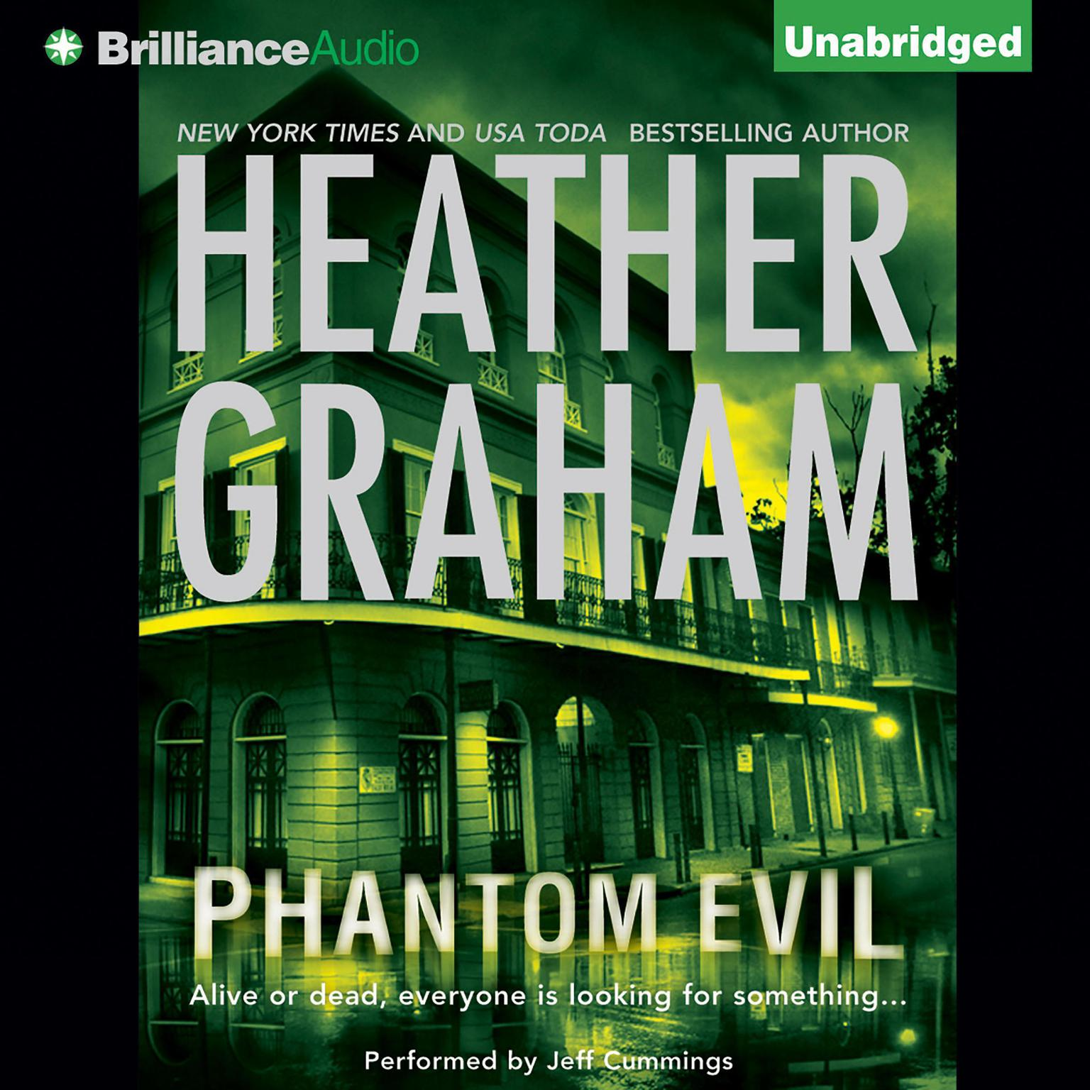 Printable Phantom Evil Audiobook Cover Art