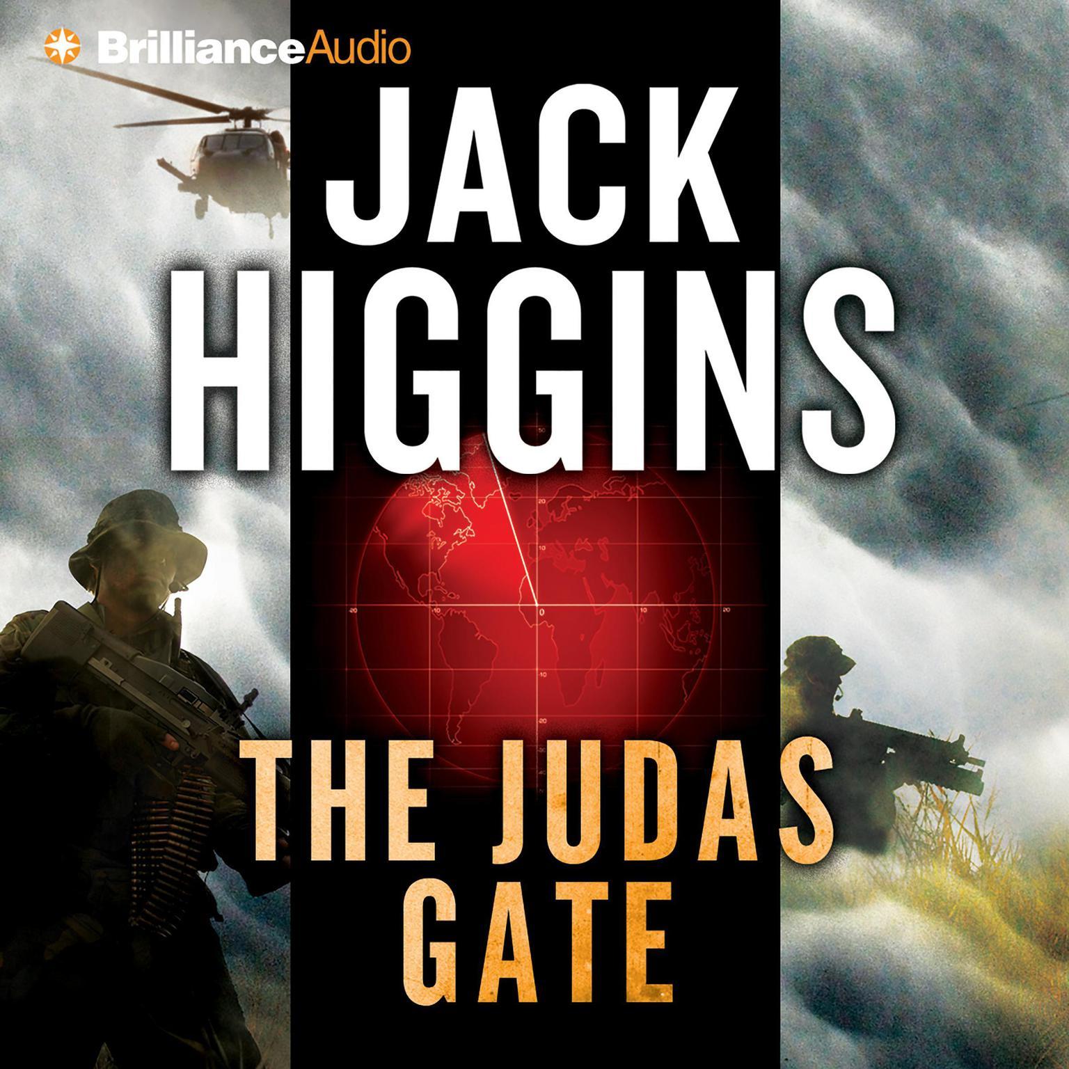 Printable The Judas Gate Audiobook Cover Art