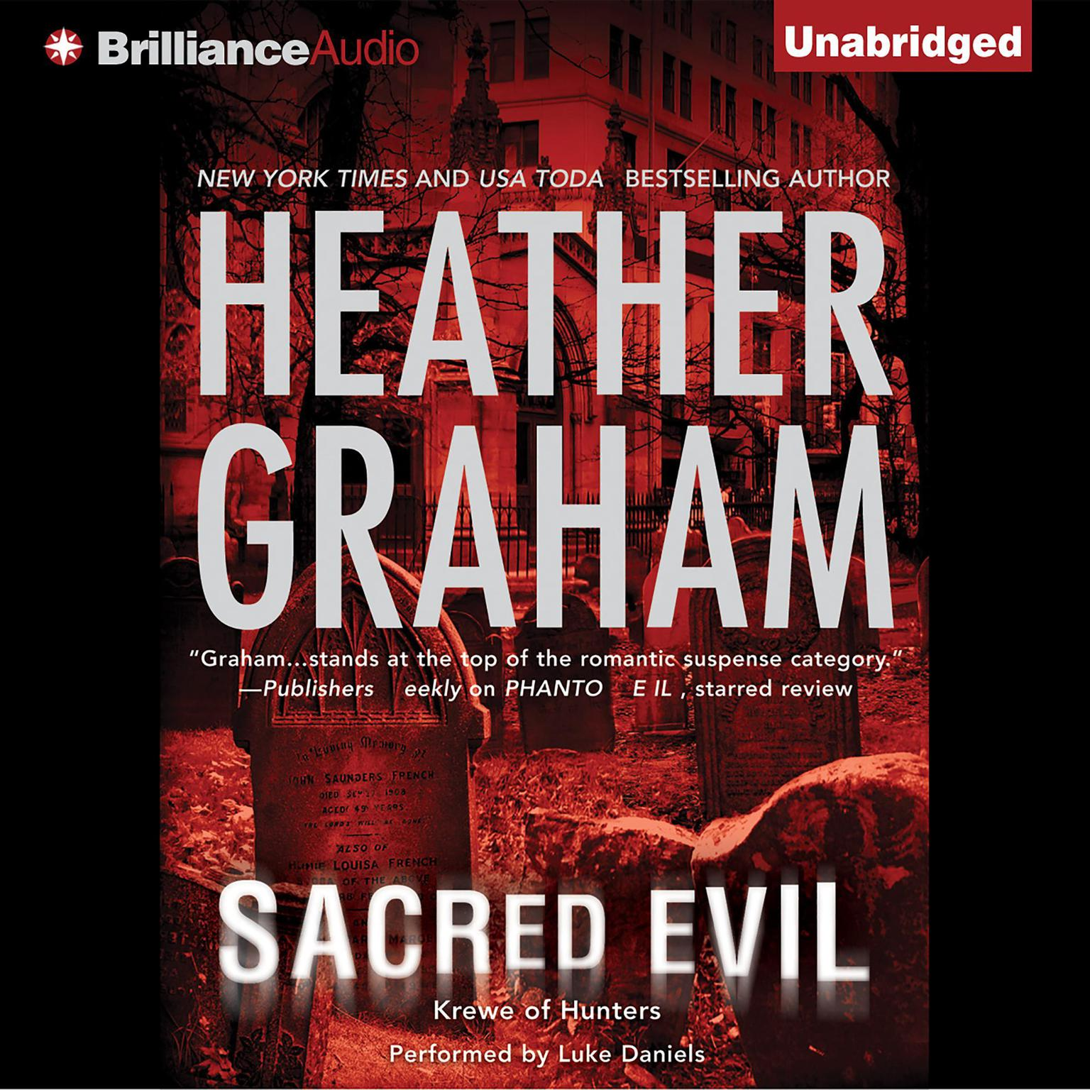 Printable Sacred Evil Audiobook Cover Art