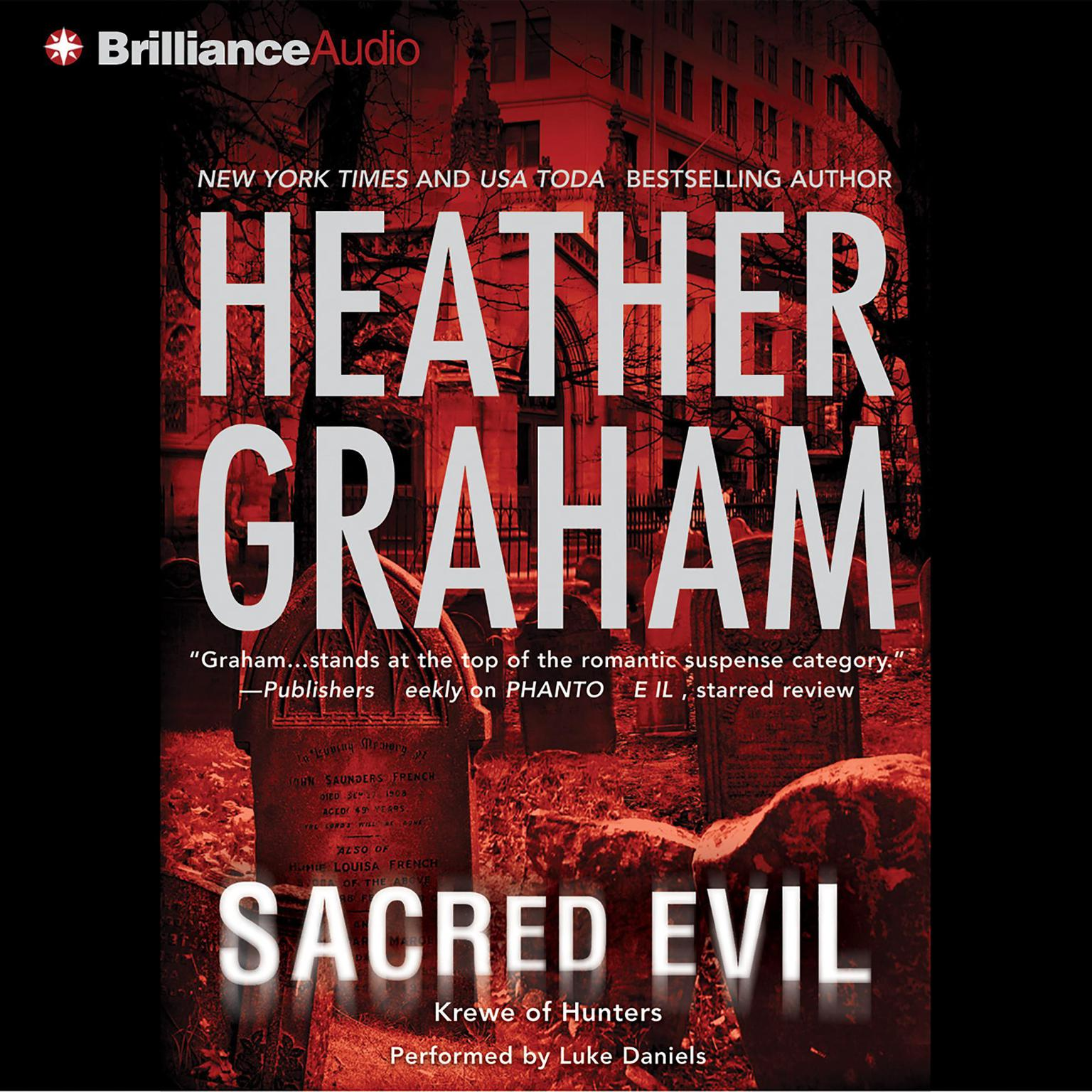 Printable Sacred Evil Audiobook Cover Art