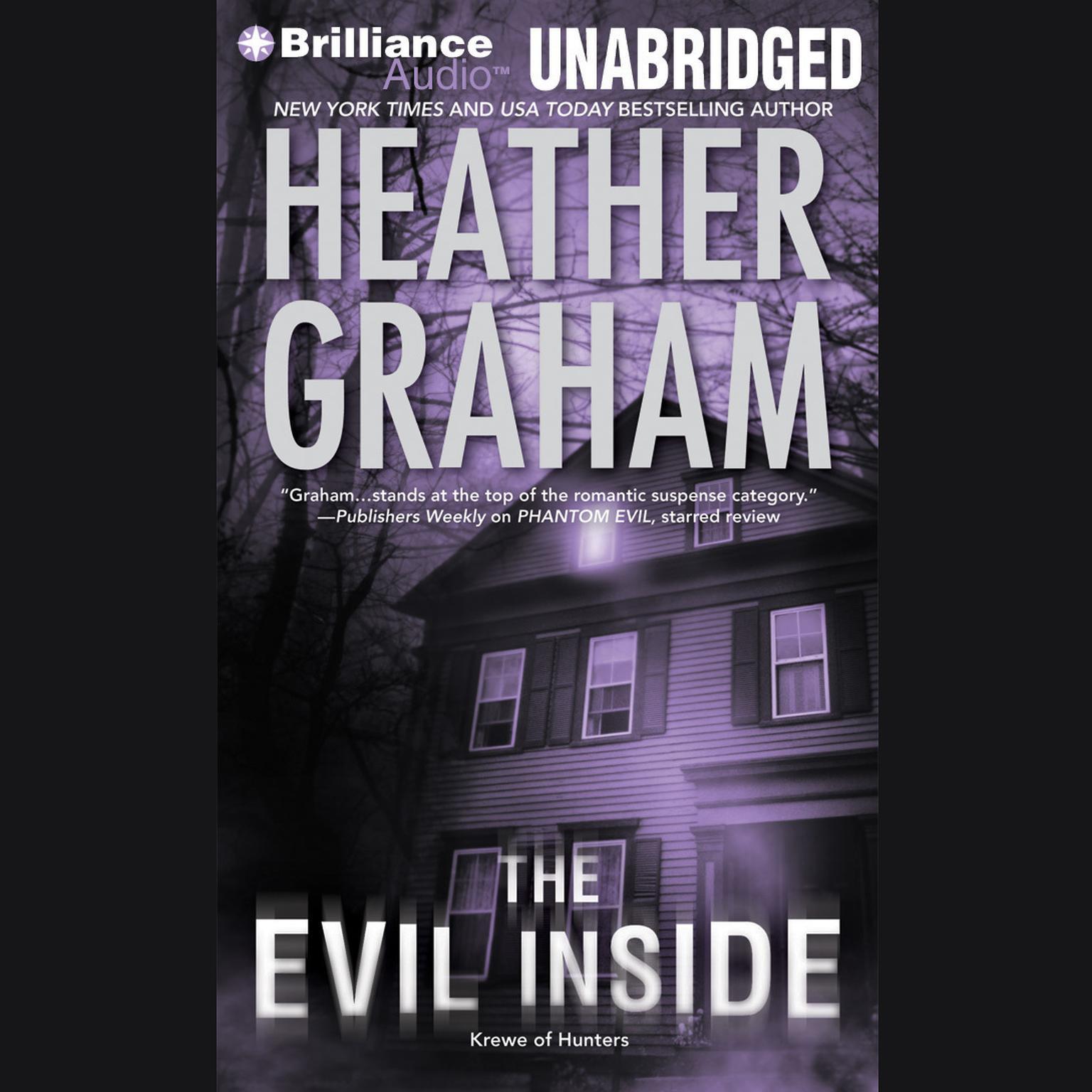 Printable The Evil Inside Audiobook Cover Art
