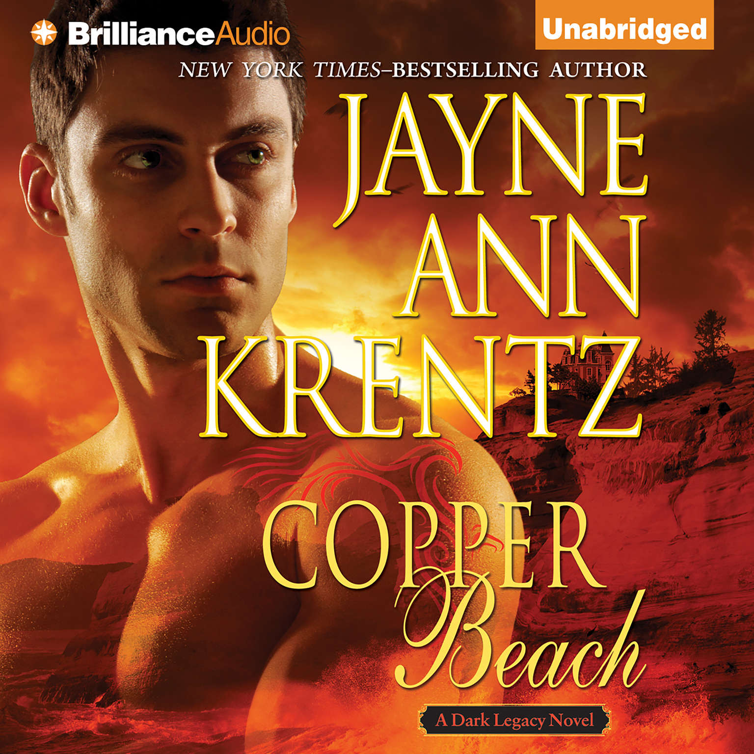 Printable Copper Beach Audiobook Cover Art