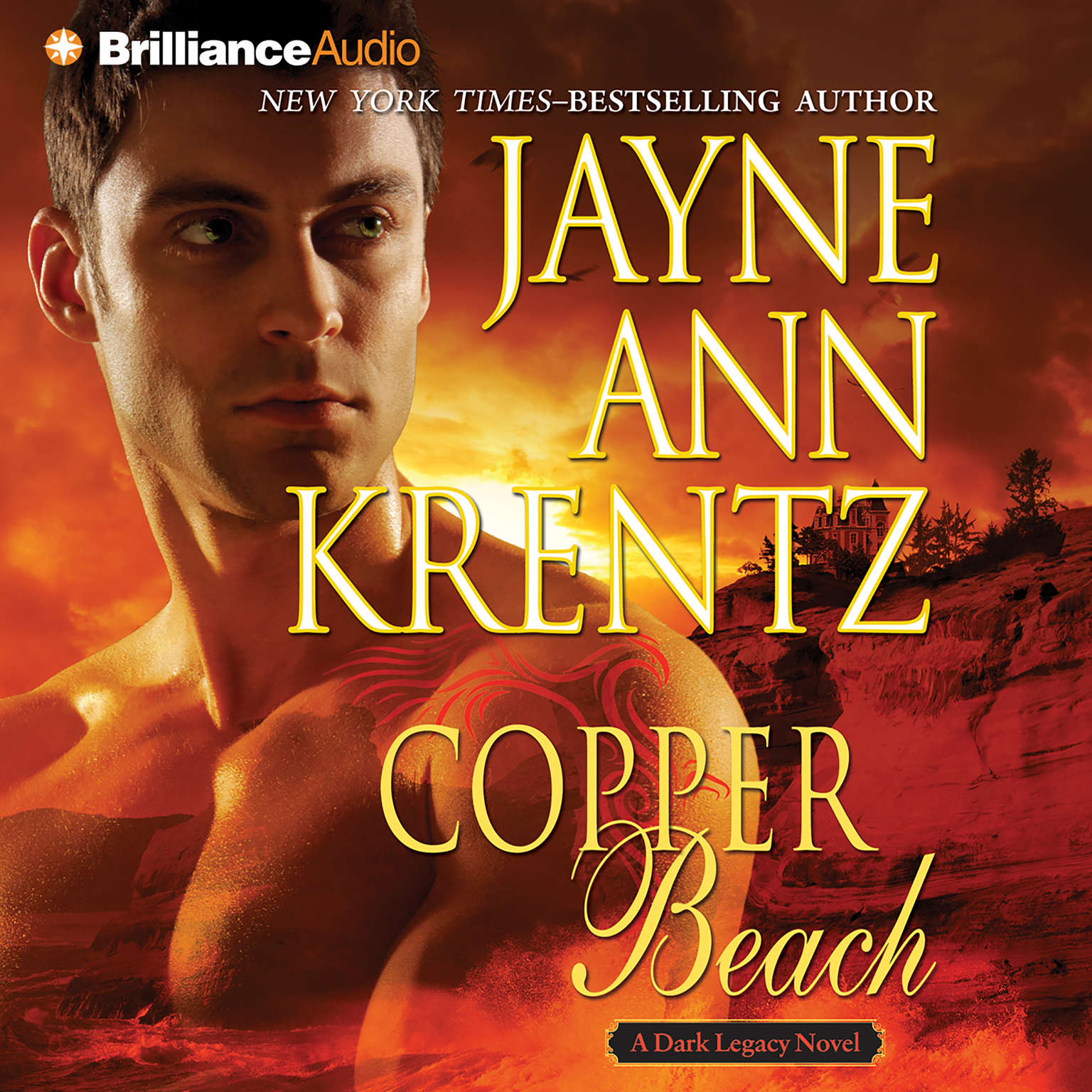 Printable Copper Beach Audiobook Cover Art