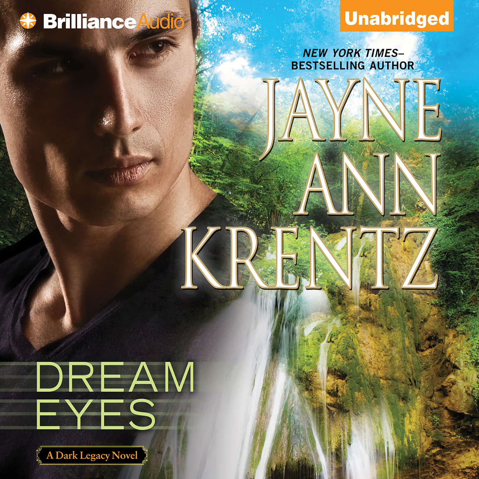 Printable Dream Eyes Audiobook Cover Art
