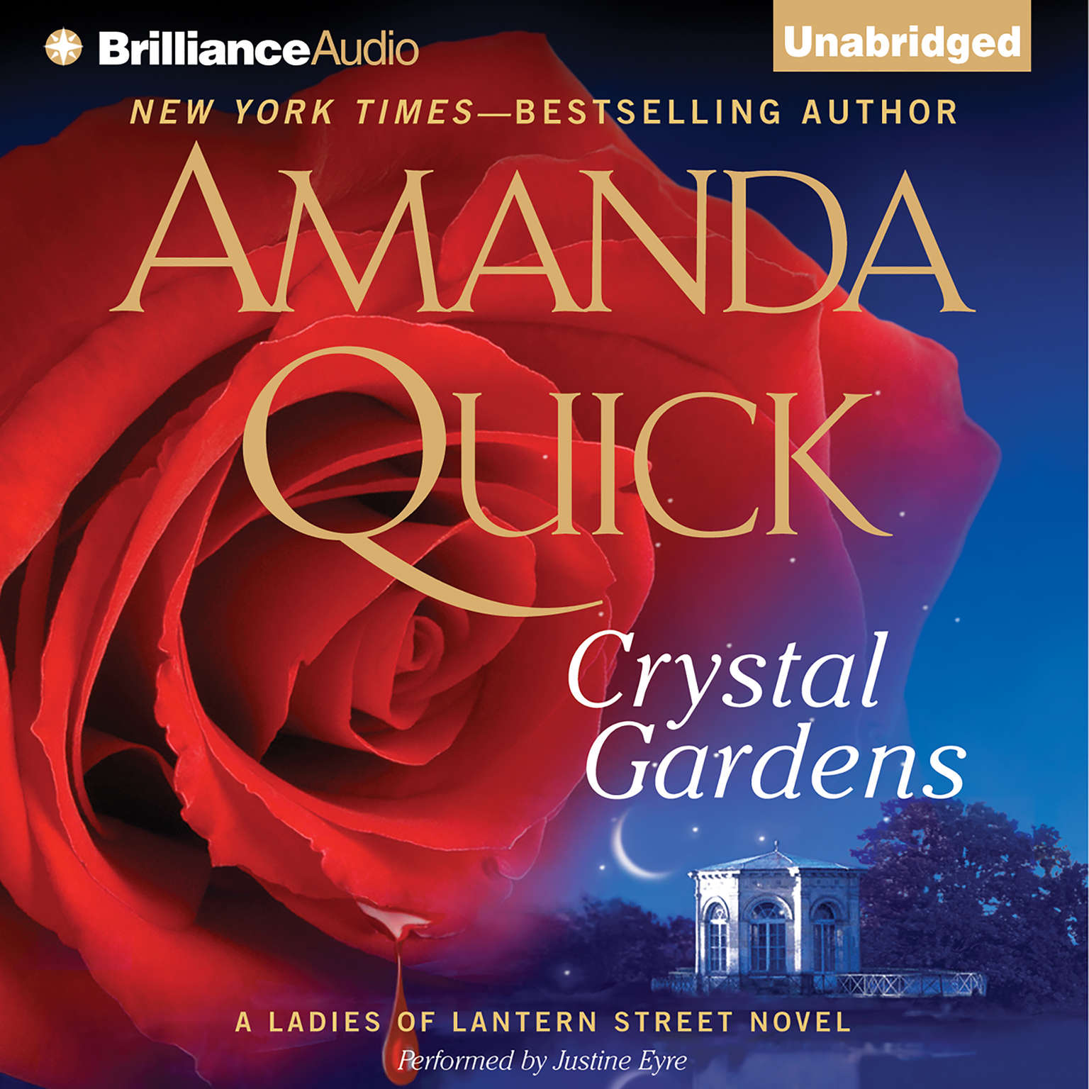 Printable Crystal Gardens: A Ladies of Lantern Street Novel Audiobook Cover Art