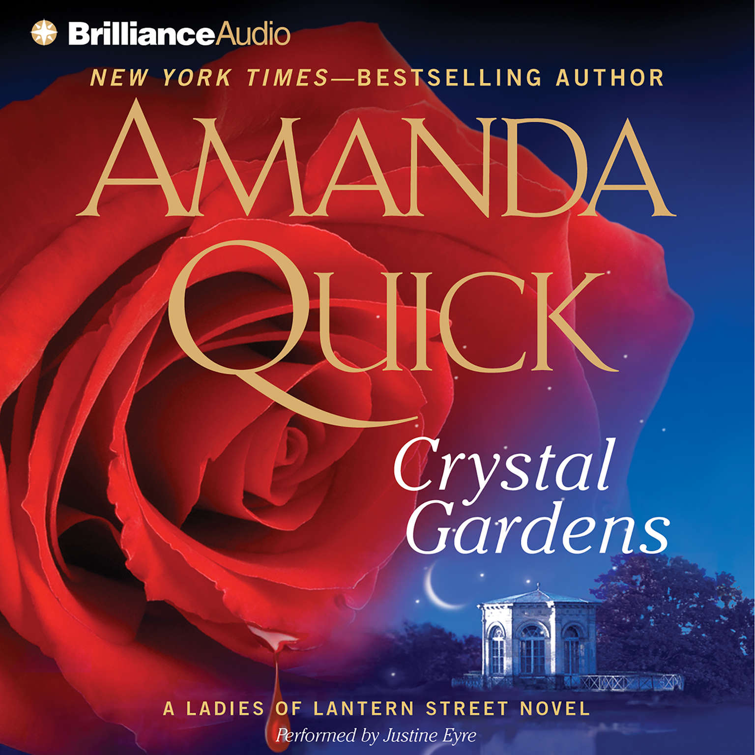 Printable Crystal Gardens Audiobook Cover Art