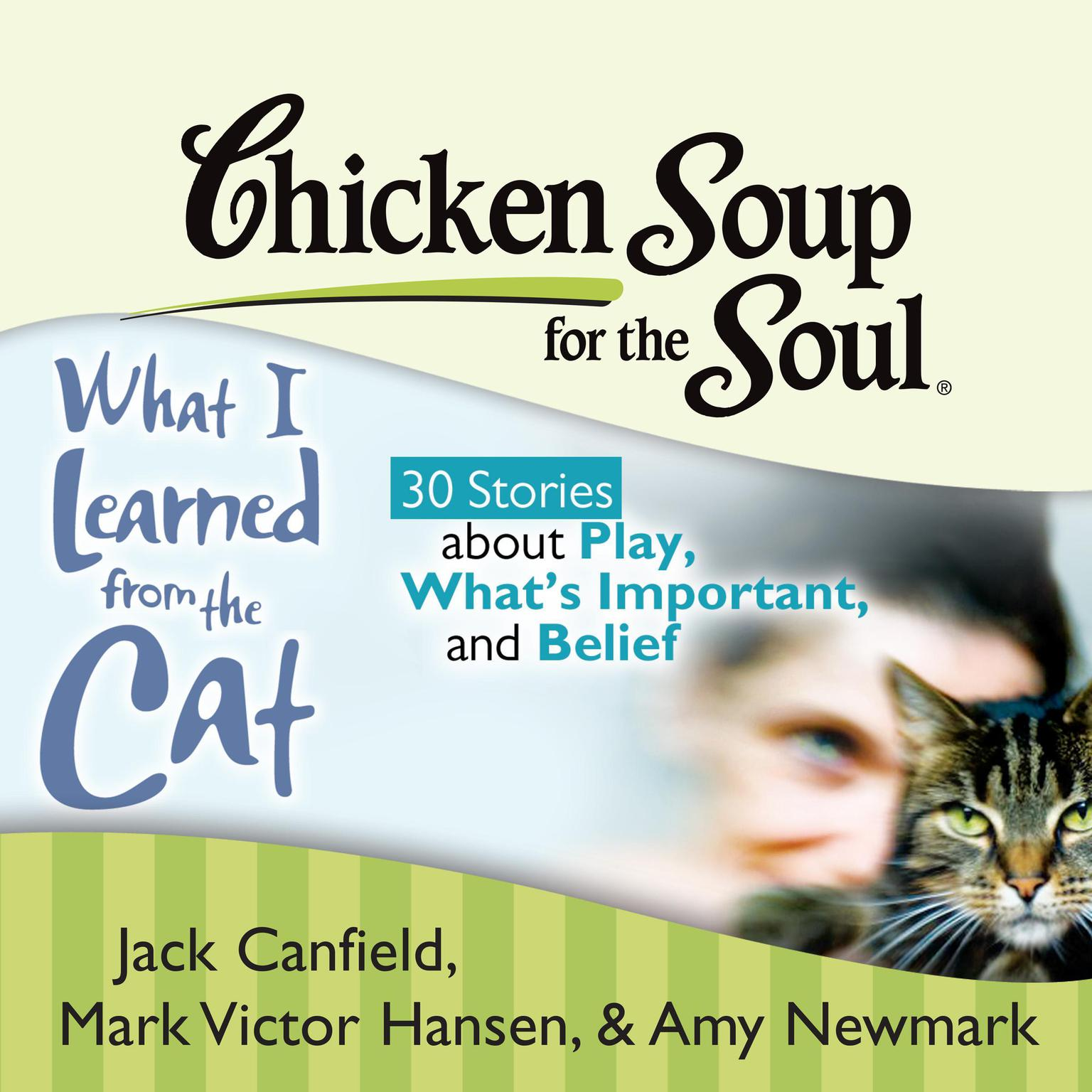 Printable Chicken Soup for the Soul: What I Learned from the Cat - 30 Stories about Play, What's Important, and Belief Audiobook Cover Art
