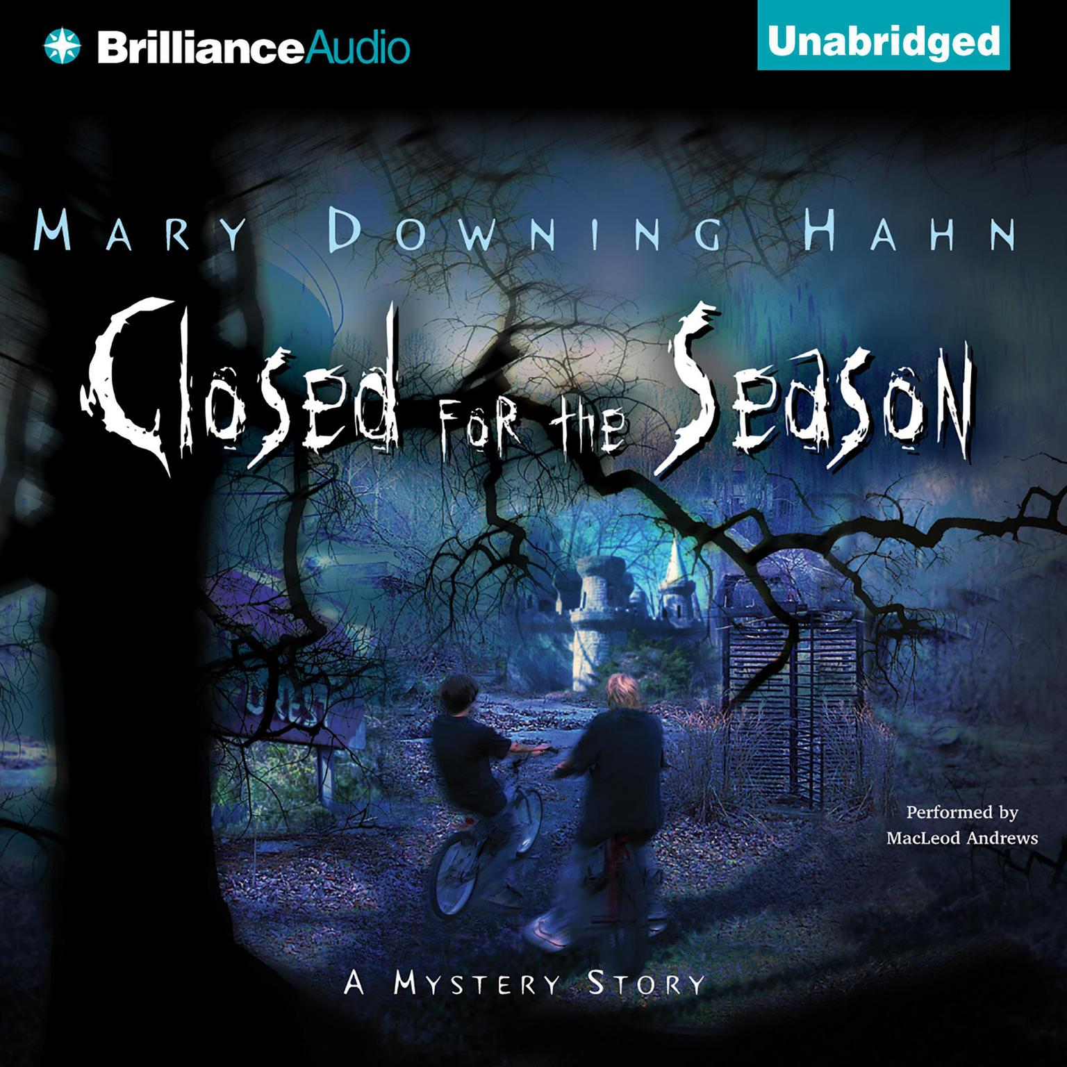 Printable Closed for the Season Audiobook Cover Art