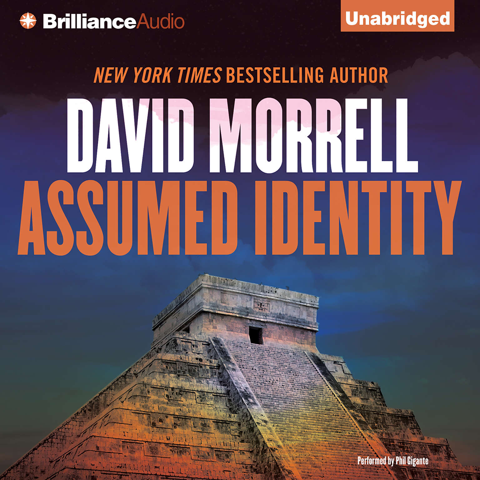 Printable Assumed Identity Audiobook Cover Art