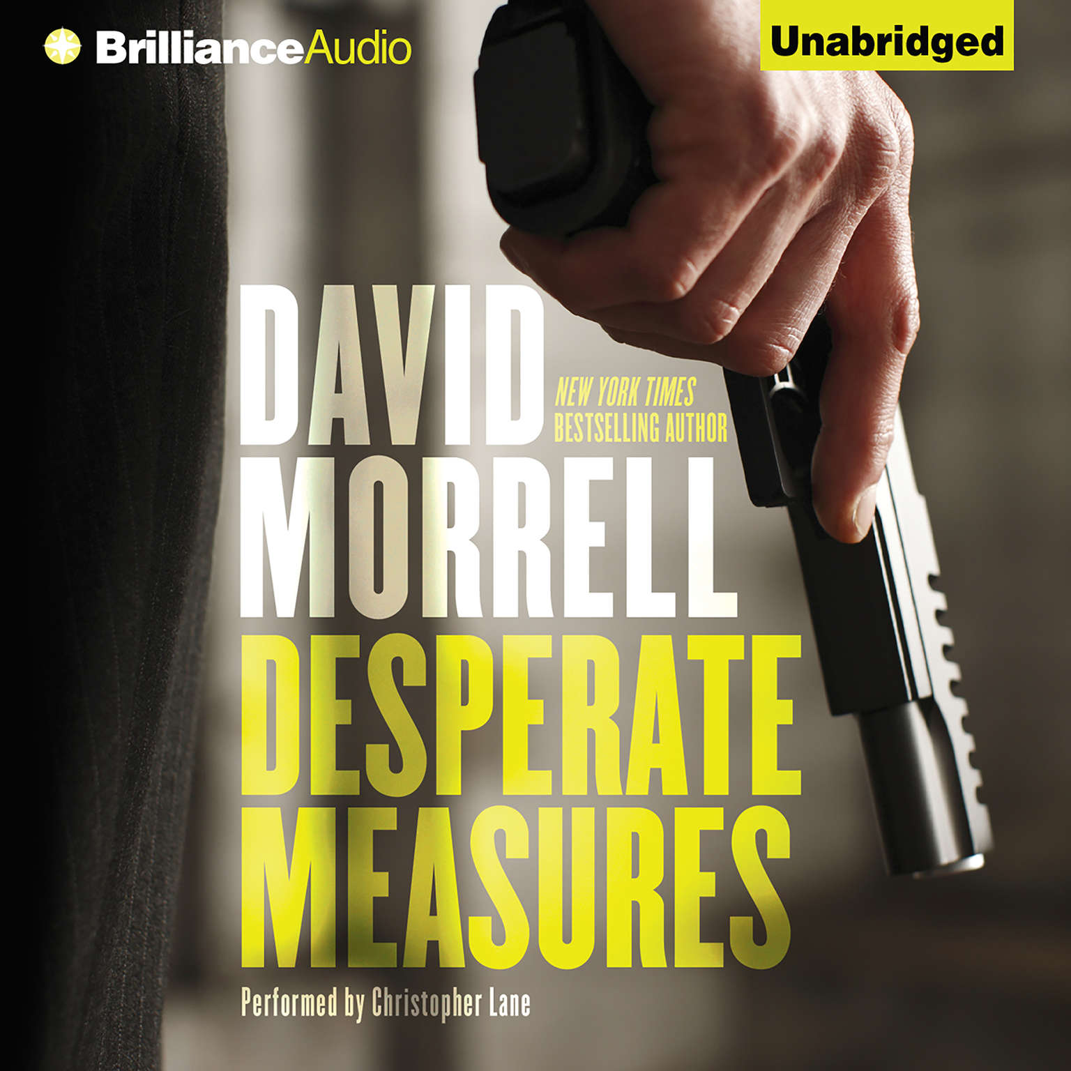 Printable Desperate Measures Audiobook Cover Art
