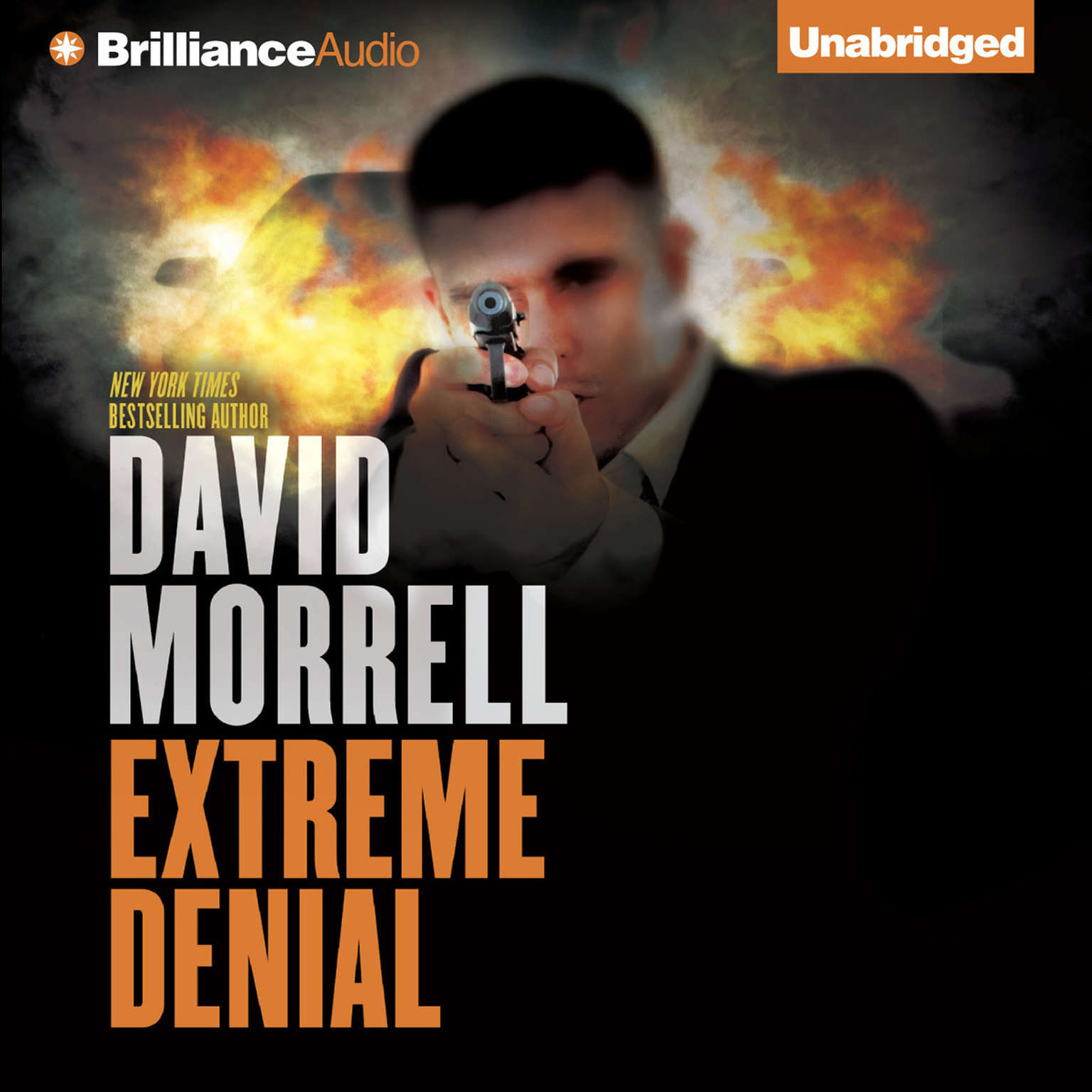 Printable Extreme Denial Audiobook Cover Art