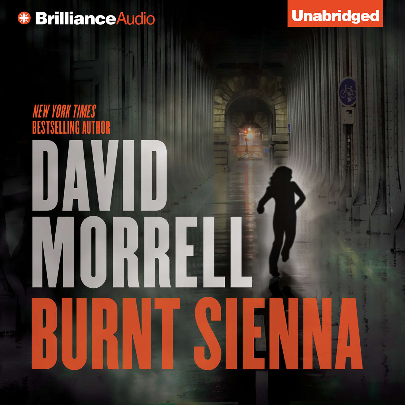 Printable Burnt Sienna Audiobook Cover Art
