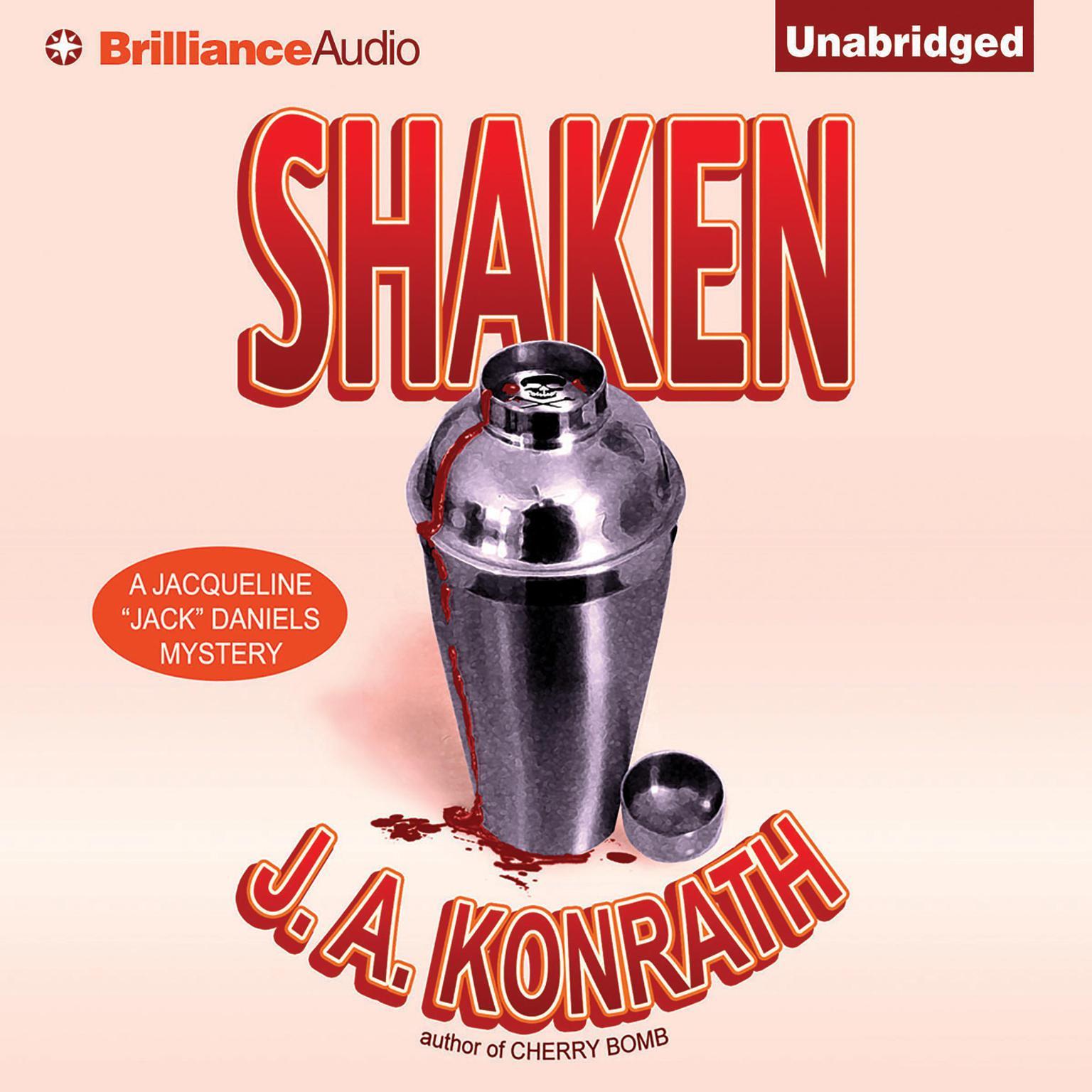 Printable Shaken Audiobook Cover Art