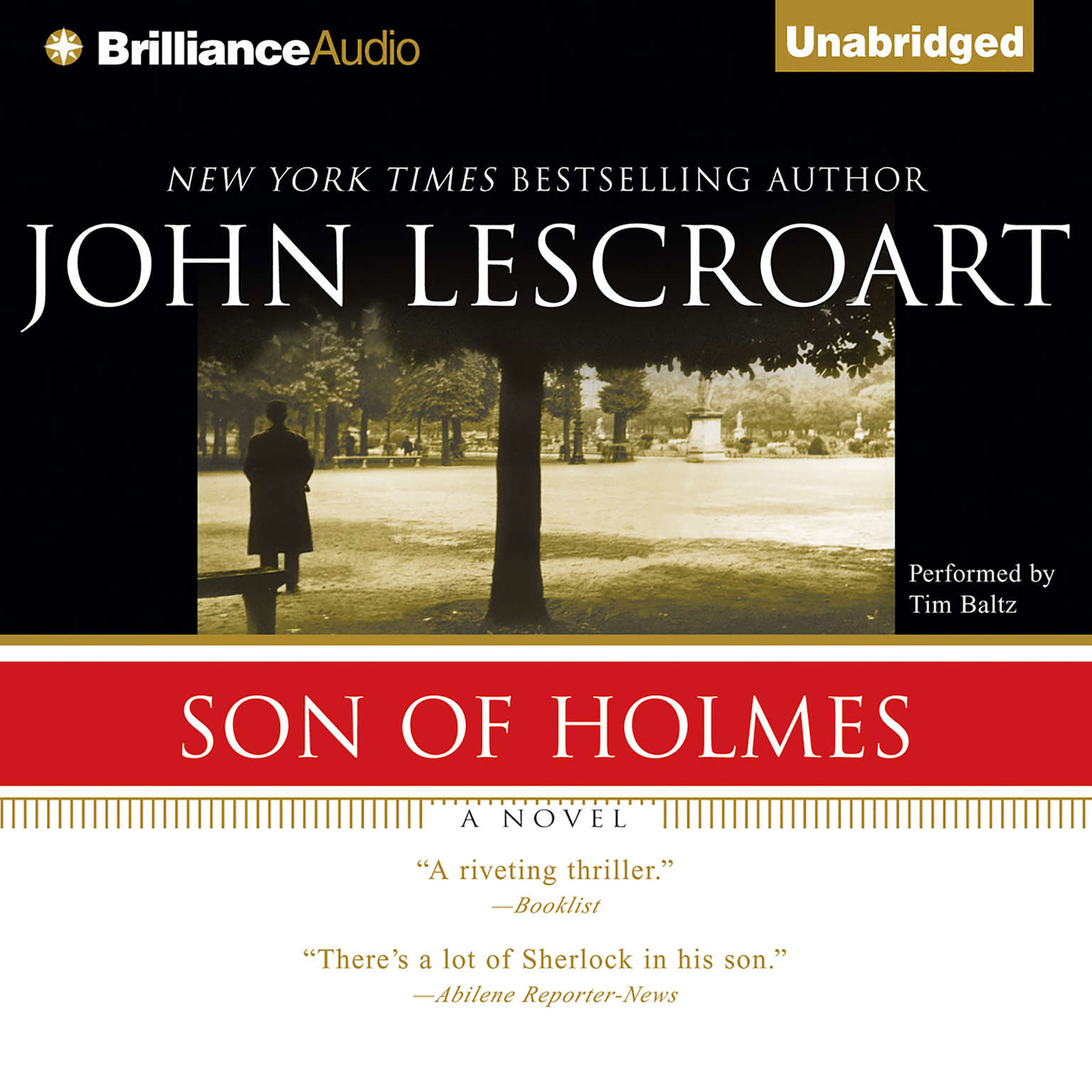 Printable Son of Holmes Audiobook Cover Art