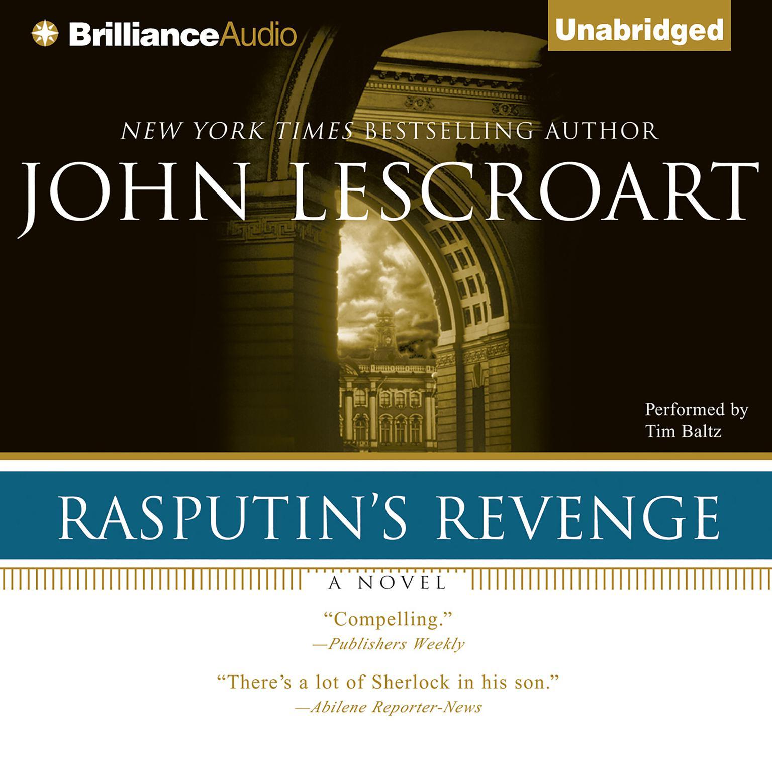 Printable Rasputin's Revenge Audiobook Cover Art