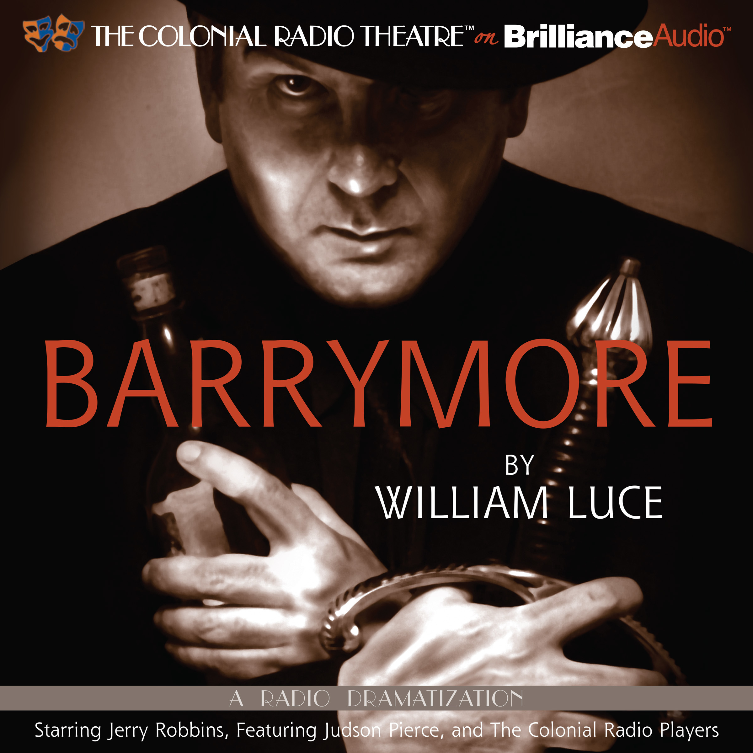 Printable Barrymore: A Radio Play Audiobook Cover Art