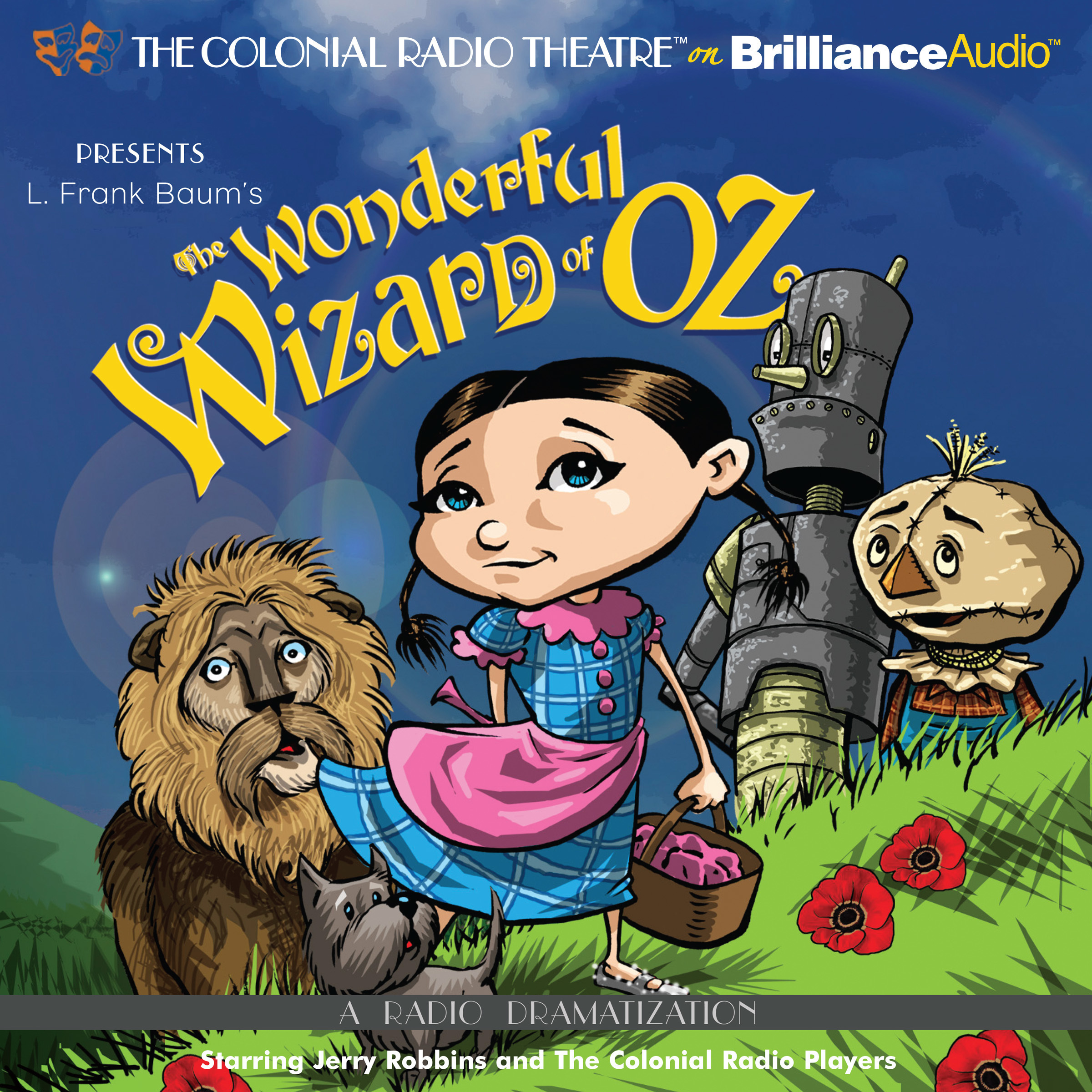 Printable The Wonderful Wizard of Oz: A Radio Dramatization Audiobook Cover Art