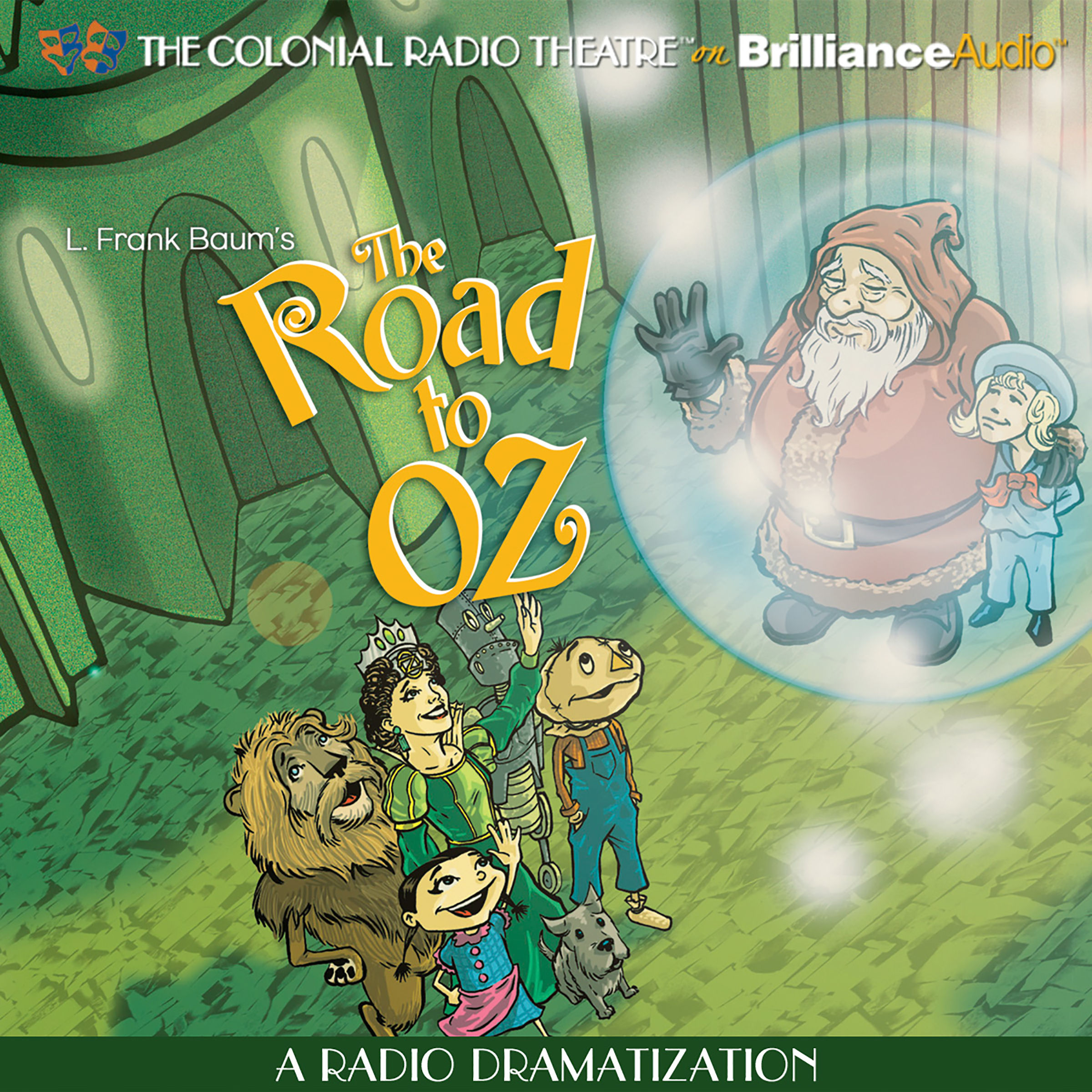 Printable The Road to Oz: A Radio Dramatization Audiobook Cover Art