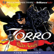 Zorro Rides Again: A Radio Dramatization Audiobook, by Johnston McCulley