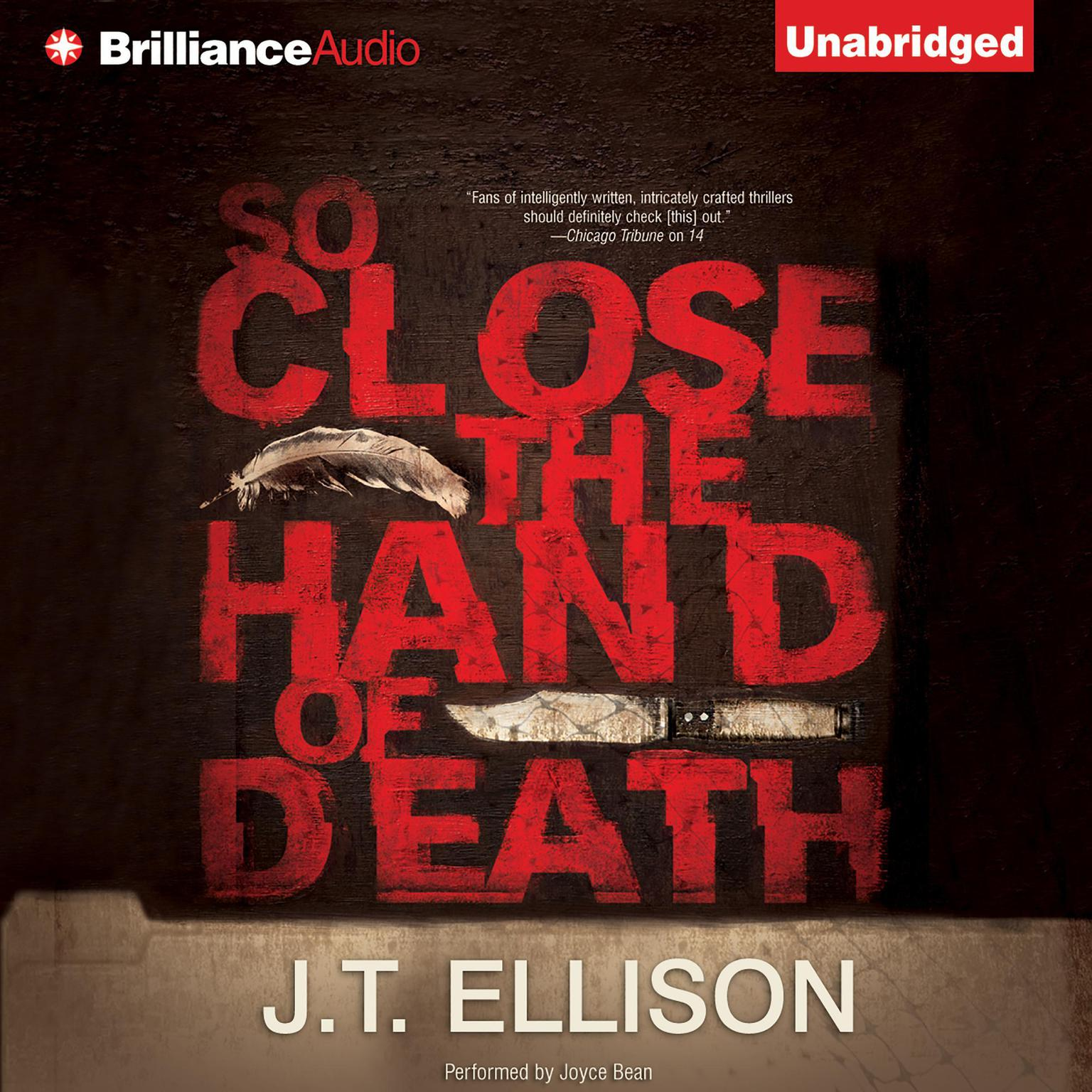 Printable So Close the Hand of Death Audiobook Cover Art