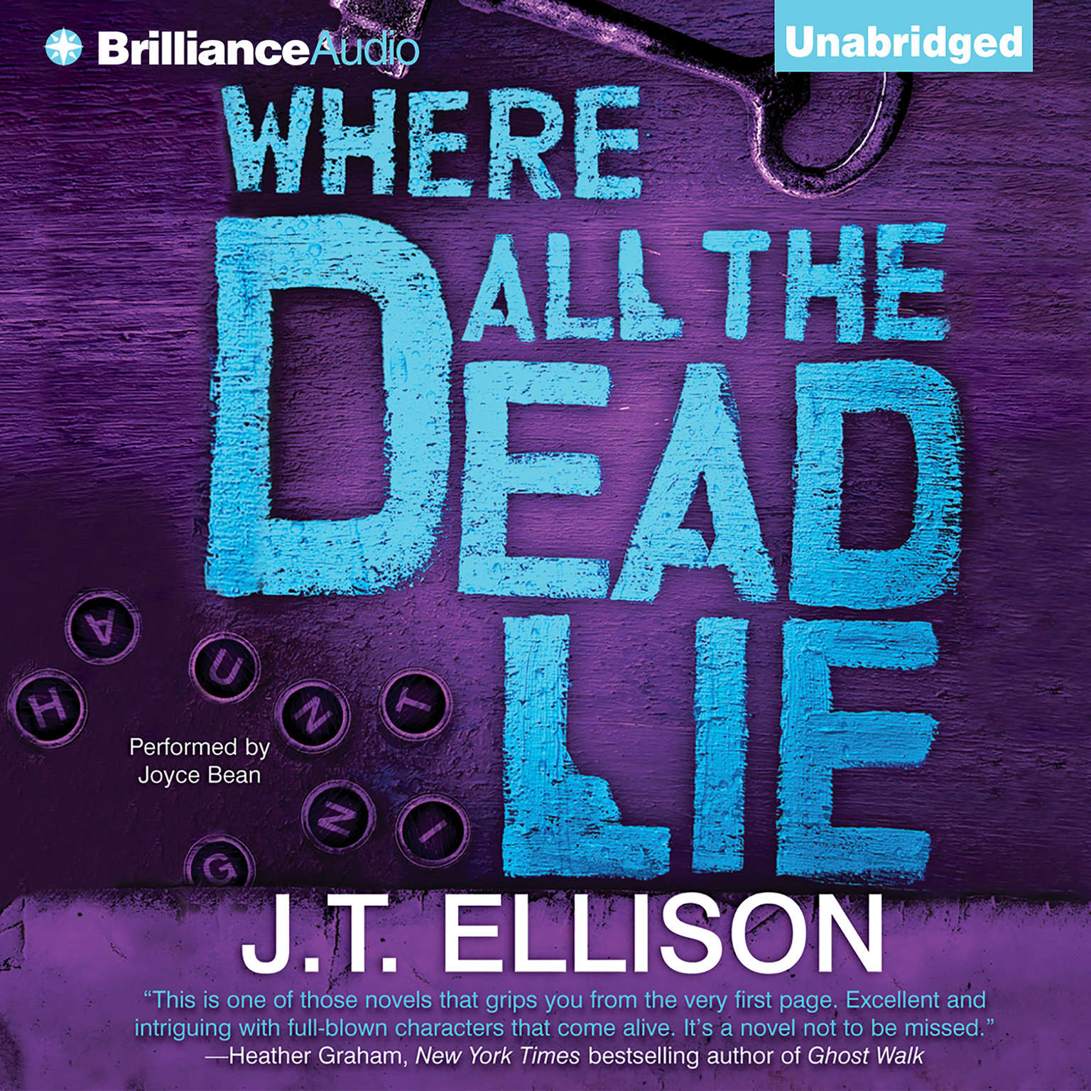 Printable Where All the Dead Lie Audiobook Cover Art