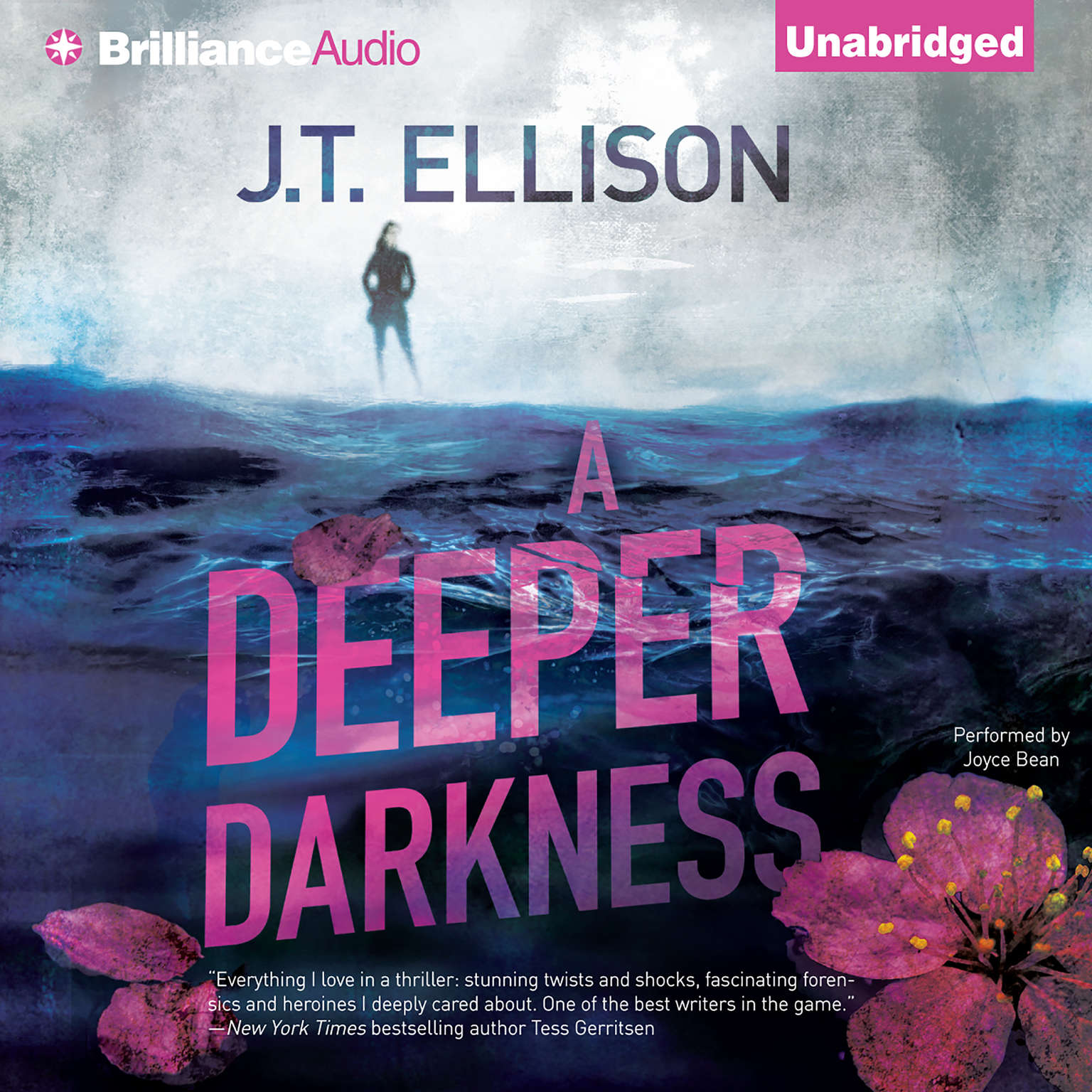 Printable A Deeper Darkness Audiobook Cover Art