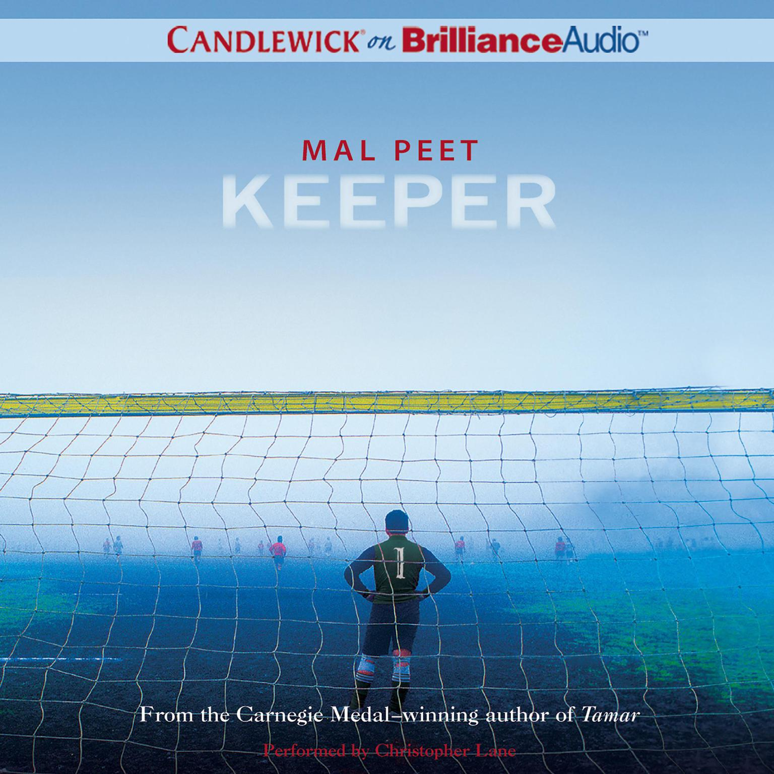 Printable Keeper Audiobook Cover Art