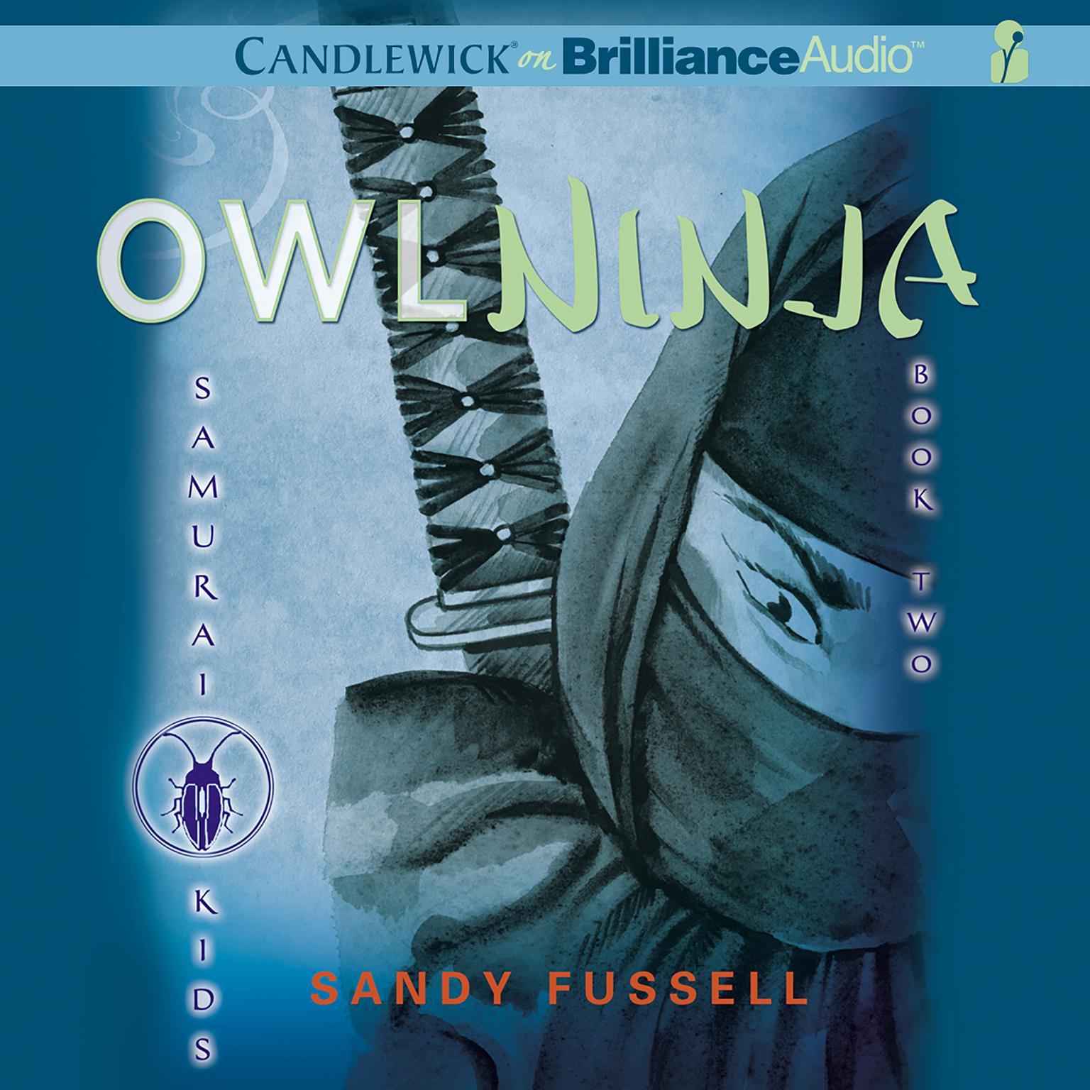 Printable Samurai Kids #2: Owl Ninja Audiobook Cover Art